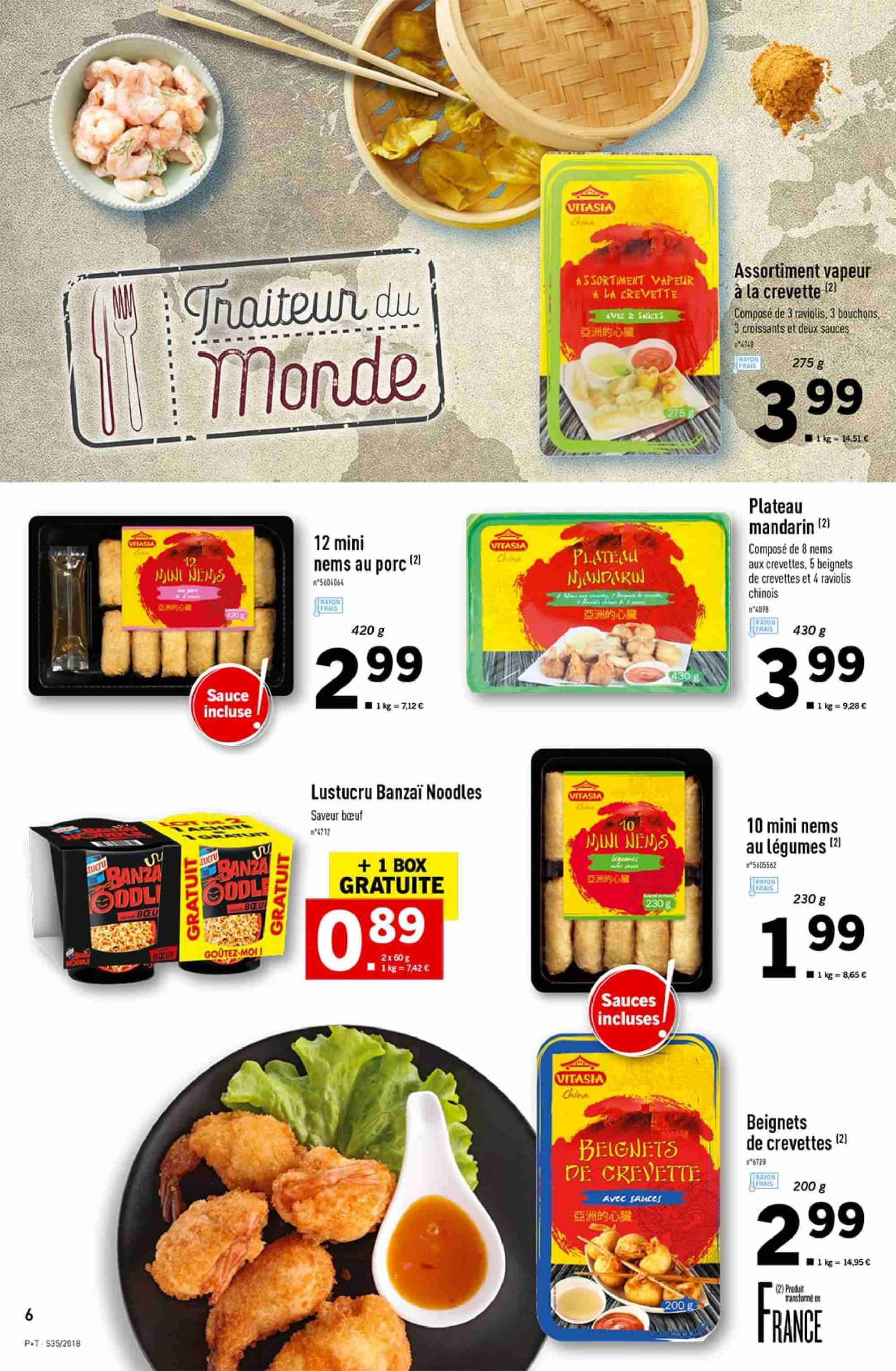 Catalogue Lidl - 29.08.2018 - 04.09.2018. Page 6.