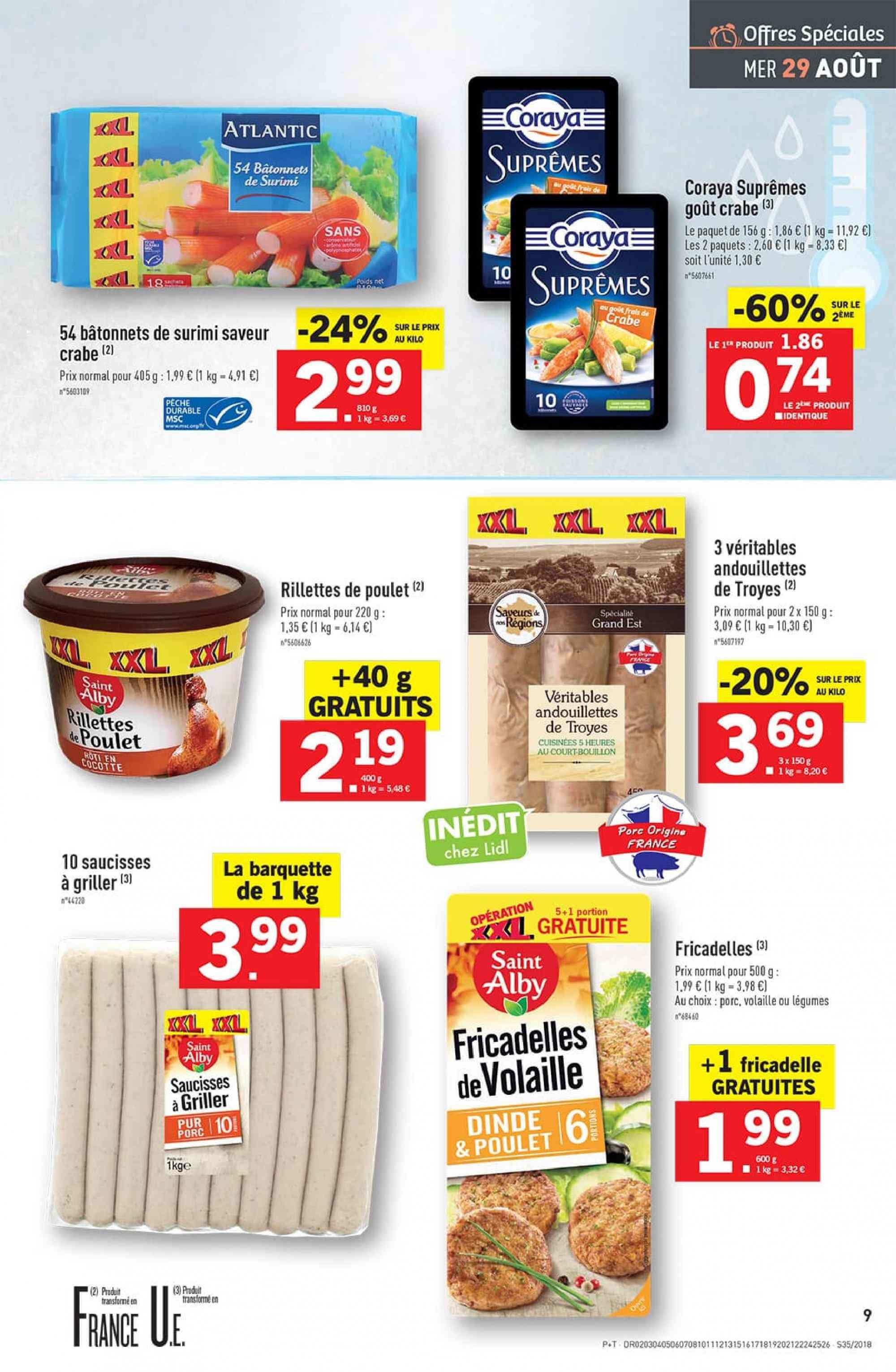 Catalogue Lidl - 29.08.2018 - 04.09.2018. Page 9.
