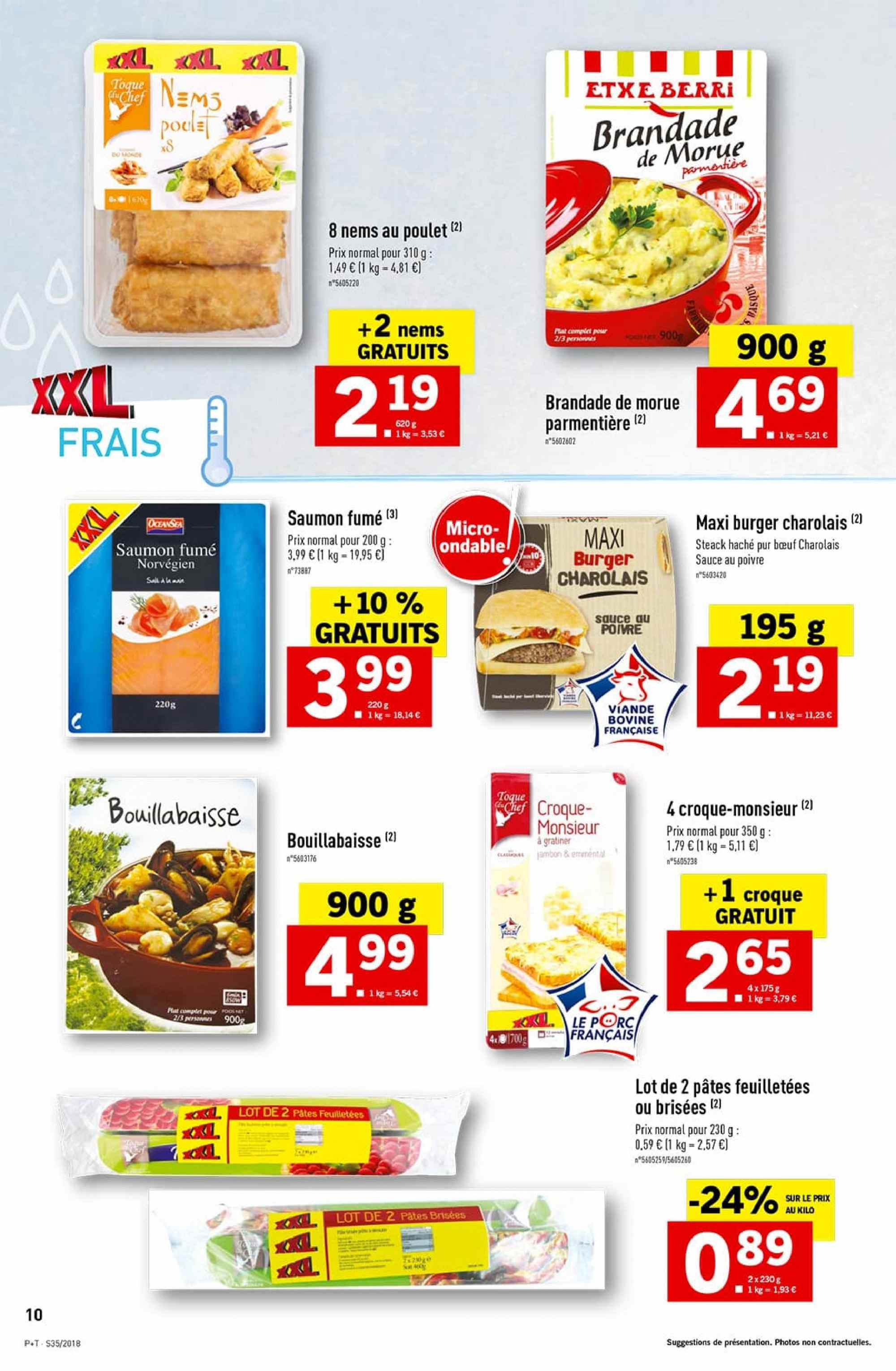 Catalogue Lidl - 29.08.2018 - 04.09.2018. Page 10.