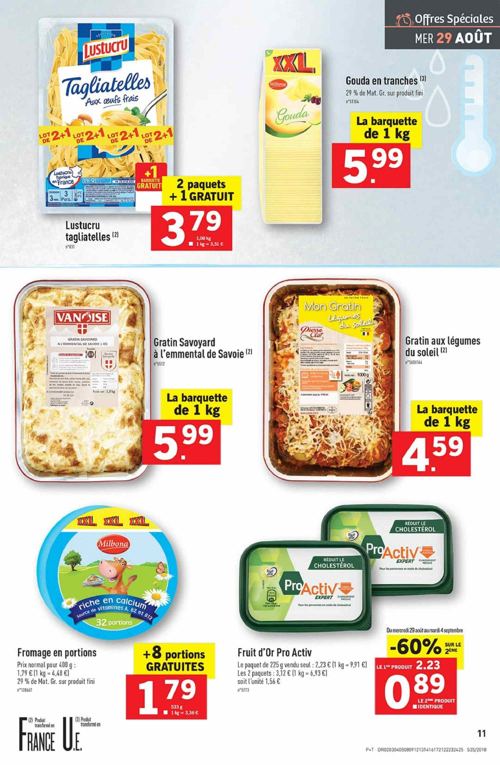 Catalogue Lidl - 29.08.2018 - 04.09.2018. Page 11.