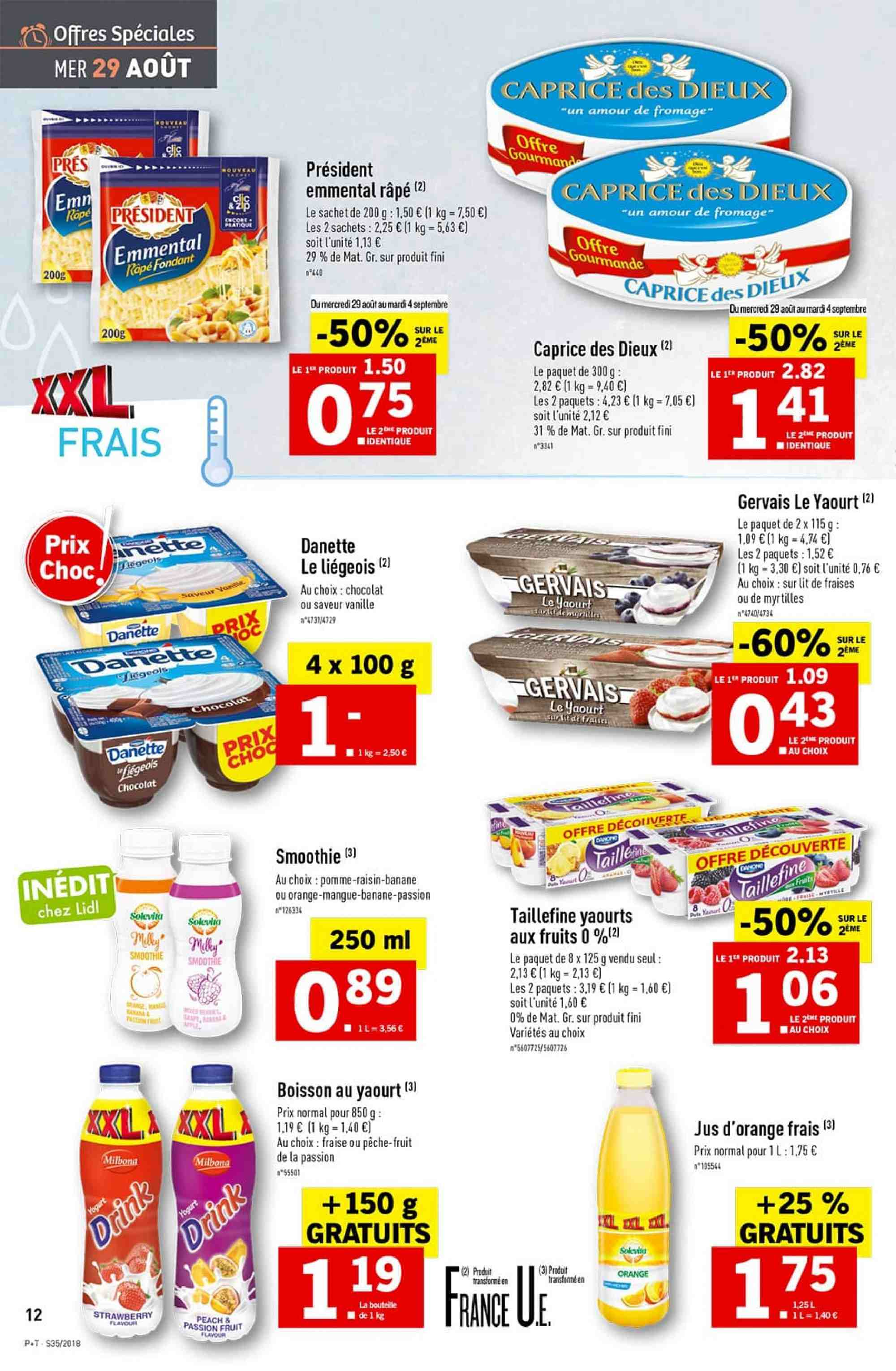 Catalogue Lidl - 29.08.2018 - 04.09.2018. Page 12.