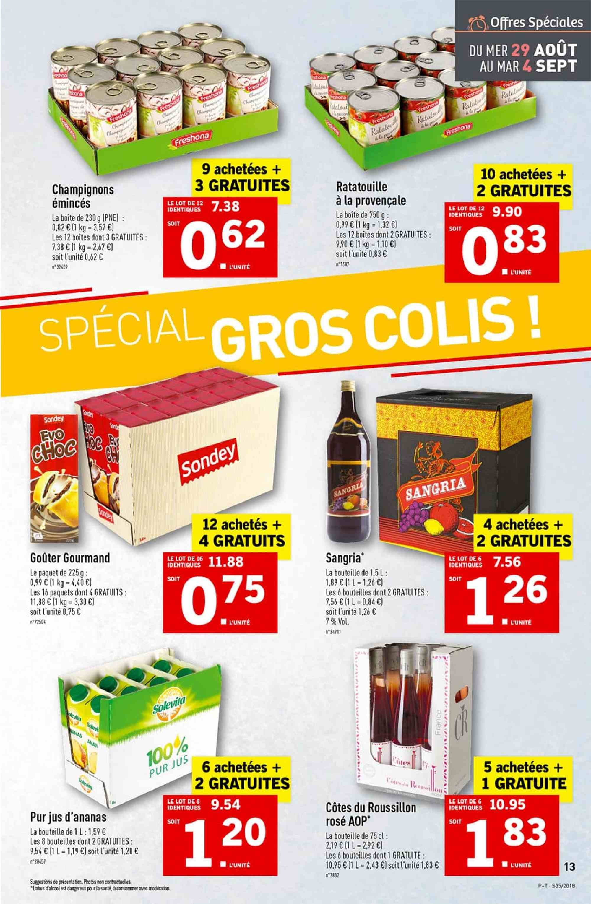 Catalogue Lidl - 29.08.2018 - 04.09.2018. Page 13.