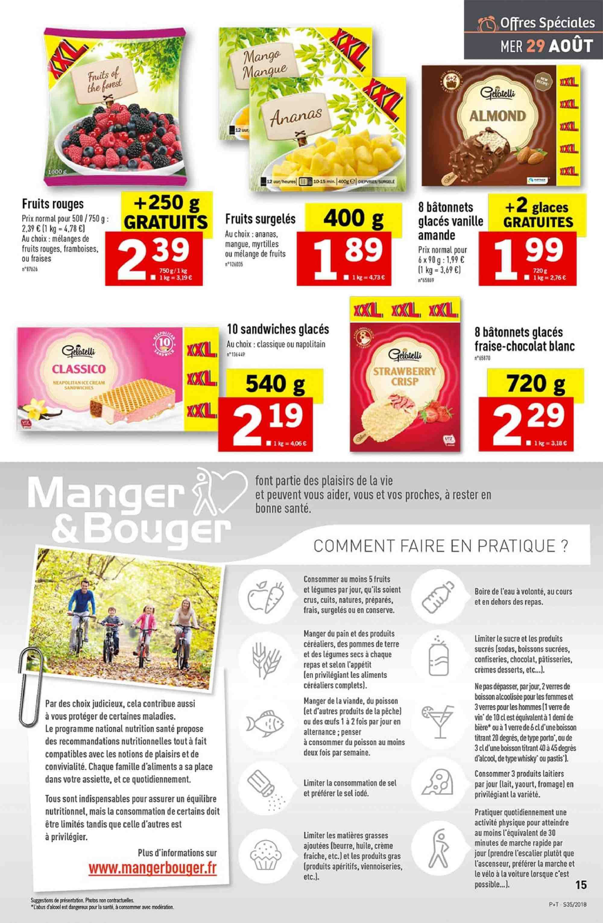 Catalogue Lidl - 29.08.2018 - 04.09.2018. Page 15.