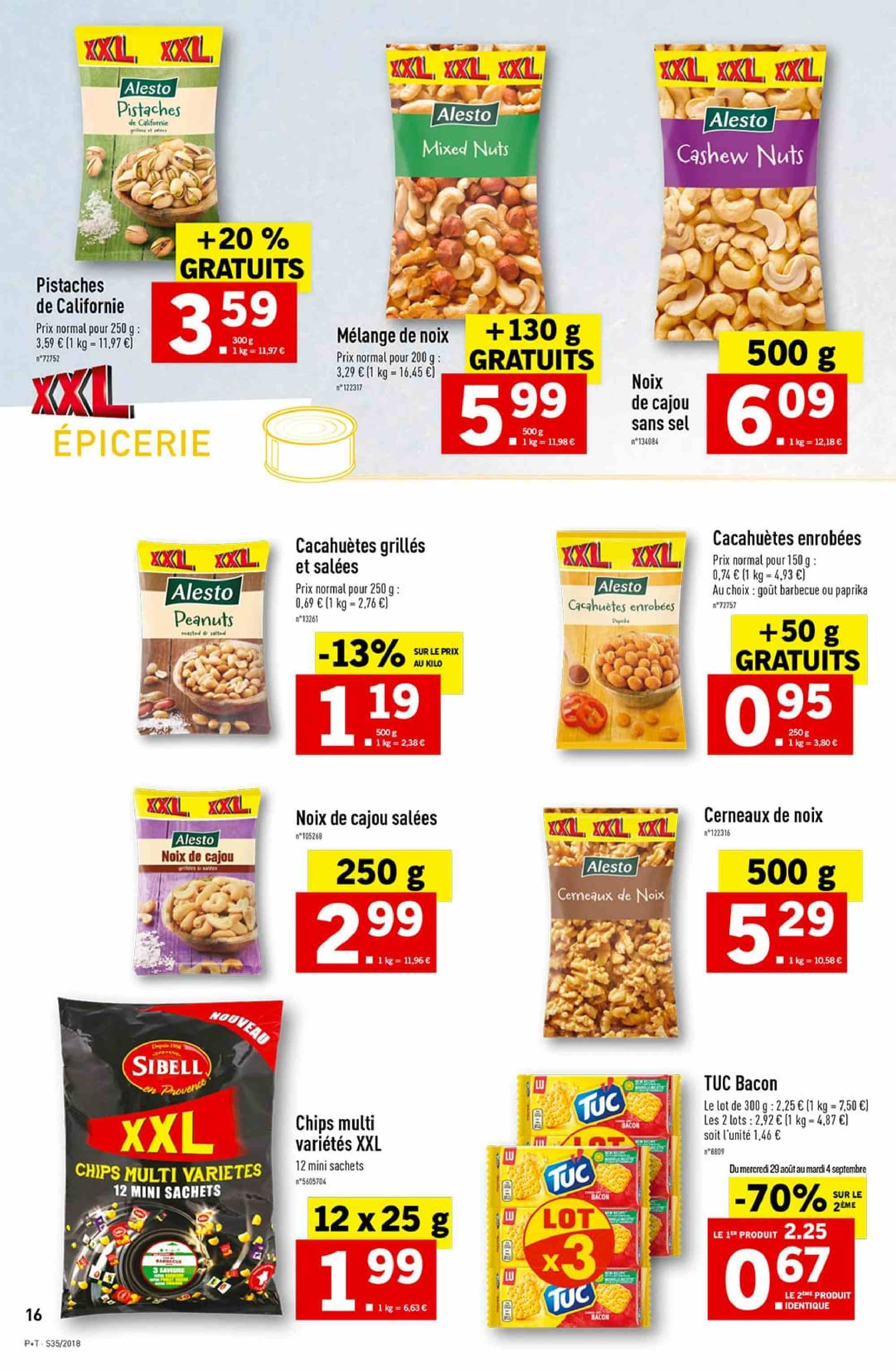 Catalogue Lidl - 29.08.2018 - 04.09.2018. Page 16.