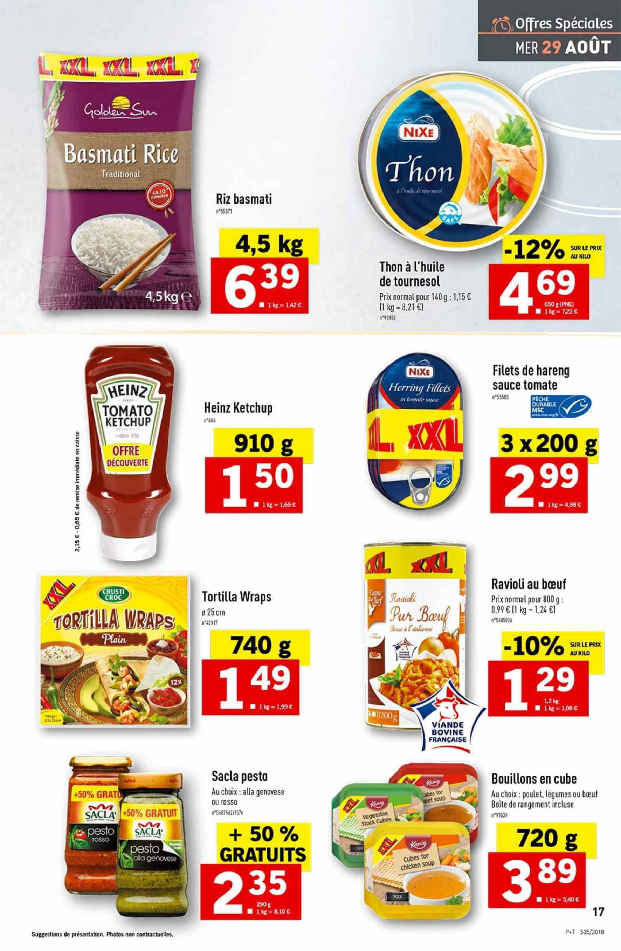 Catalogue Lidl - 29.08.2018 - 04.09.2018. Page 17.