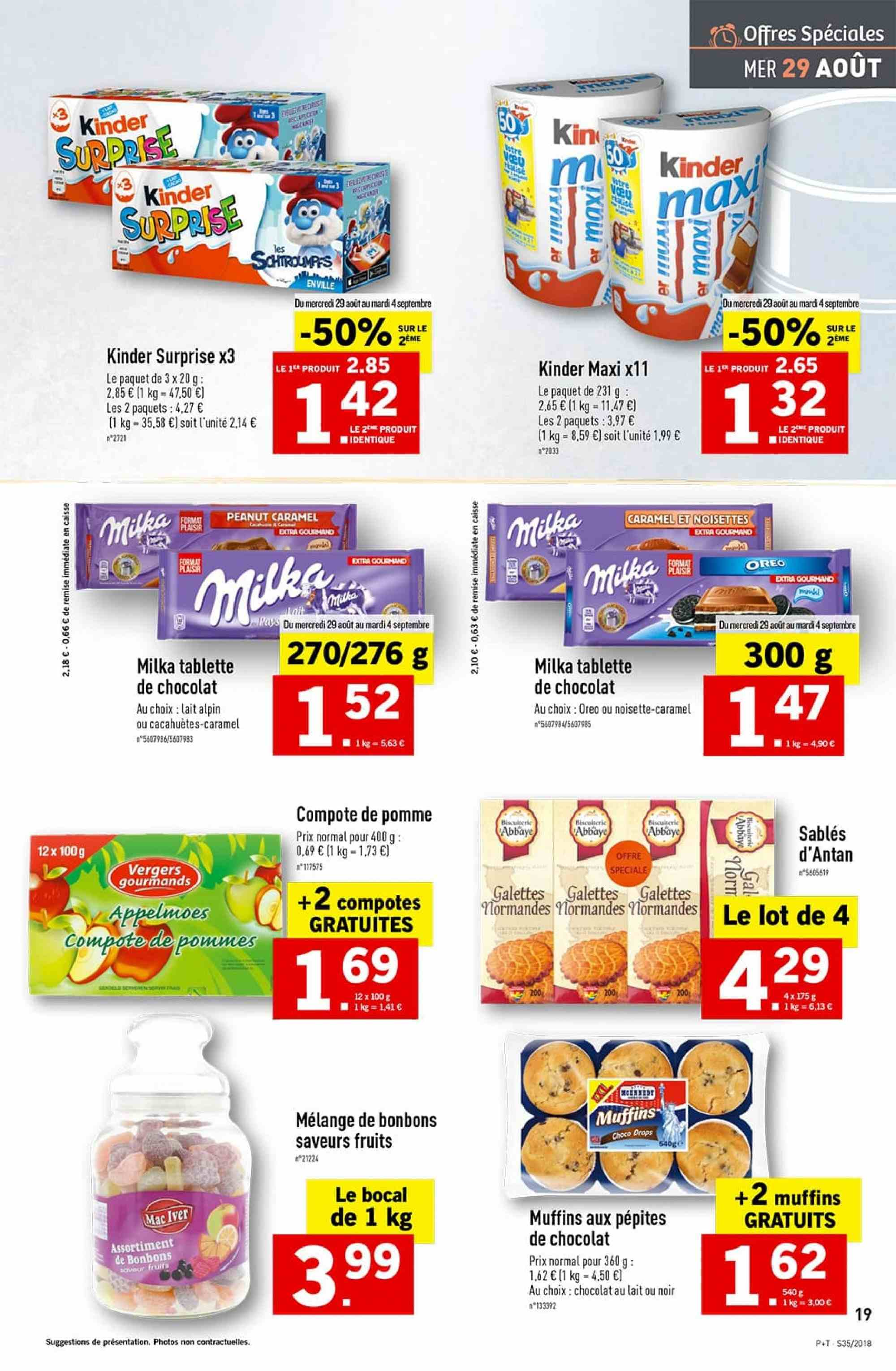 Catalogue Lidl - 29.08.2018 - 04.09.2018. Page 19.