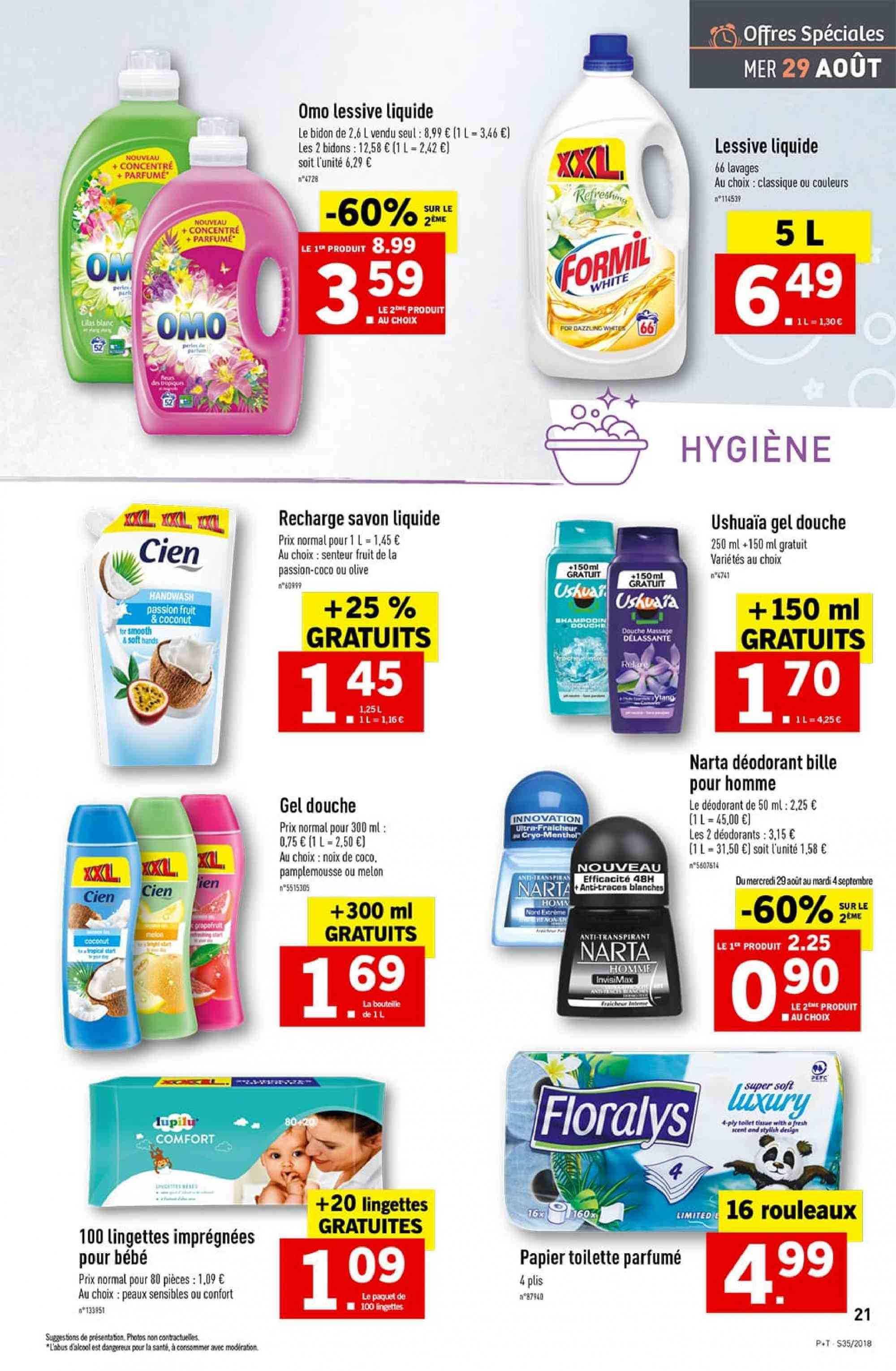 Catalogue Lidl - 29.08.2018 - 04.09.2018. Page 21.