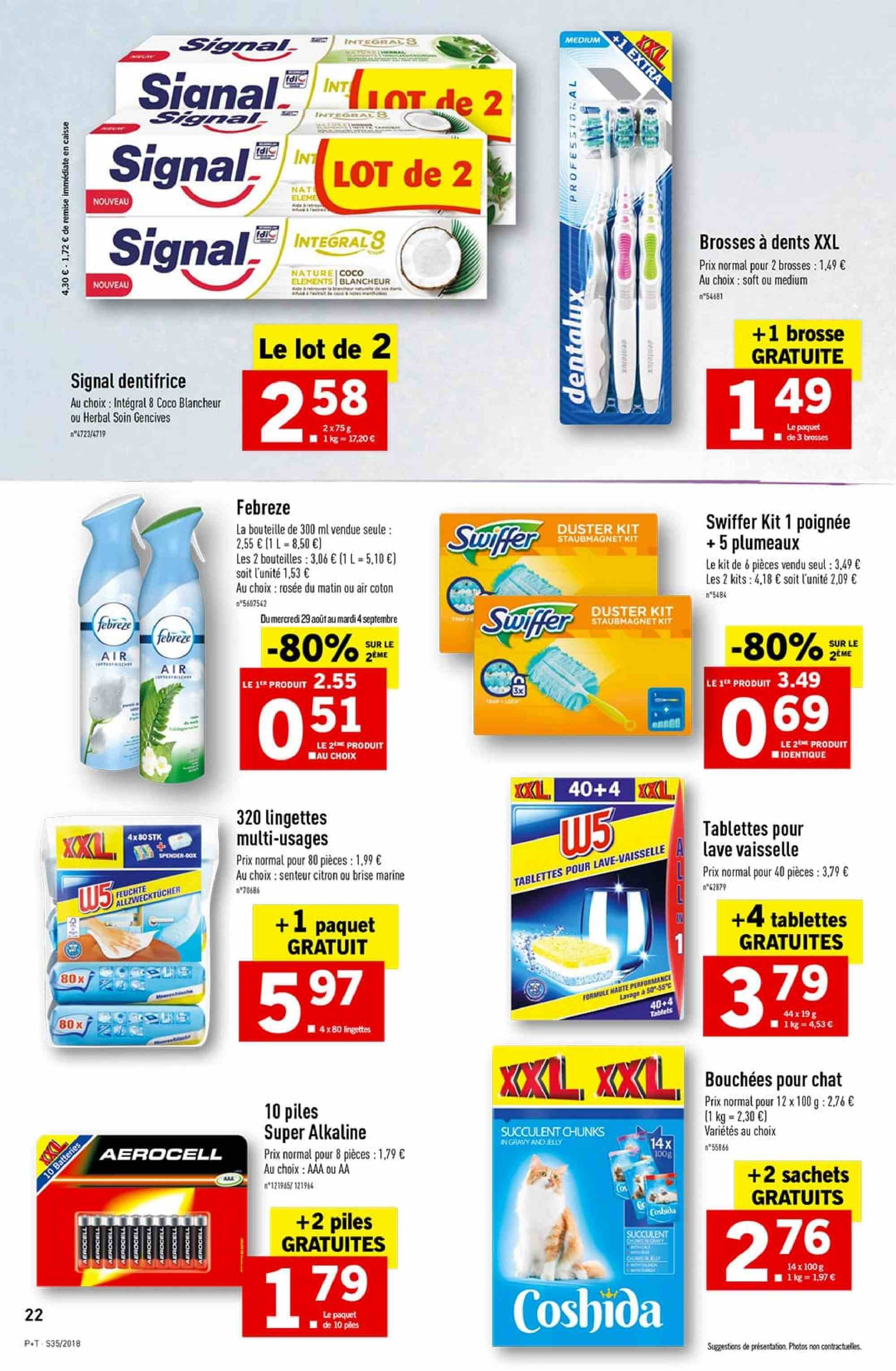 Catalogue Lidl - 29.08.2018 - 04.09.2018. Page 22.