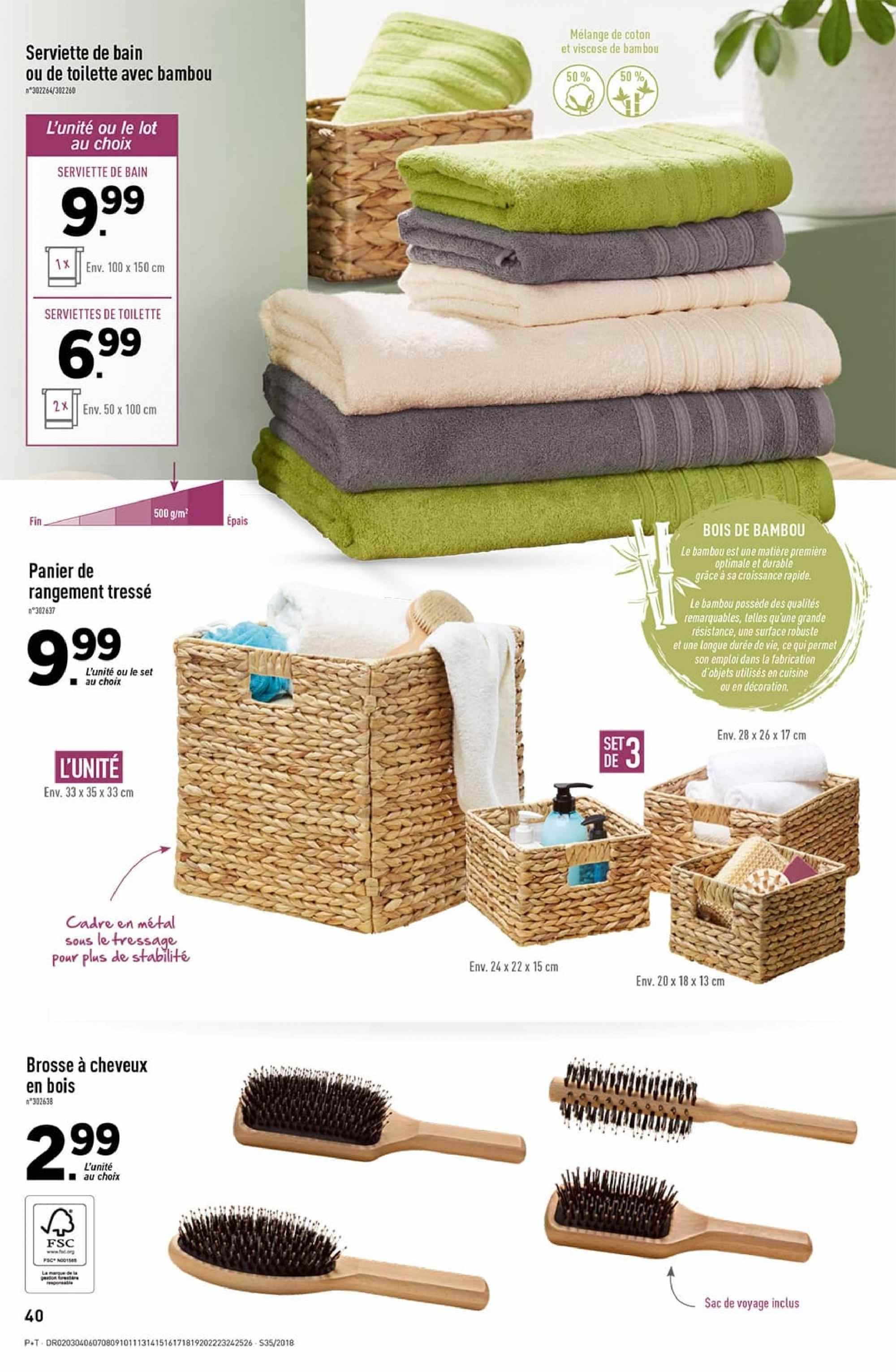 Catalogue Lidl - 29.08.2018 - 04.09.2018. Page 40.