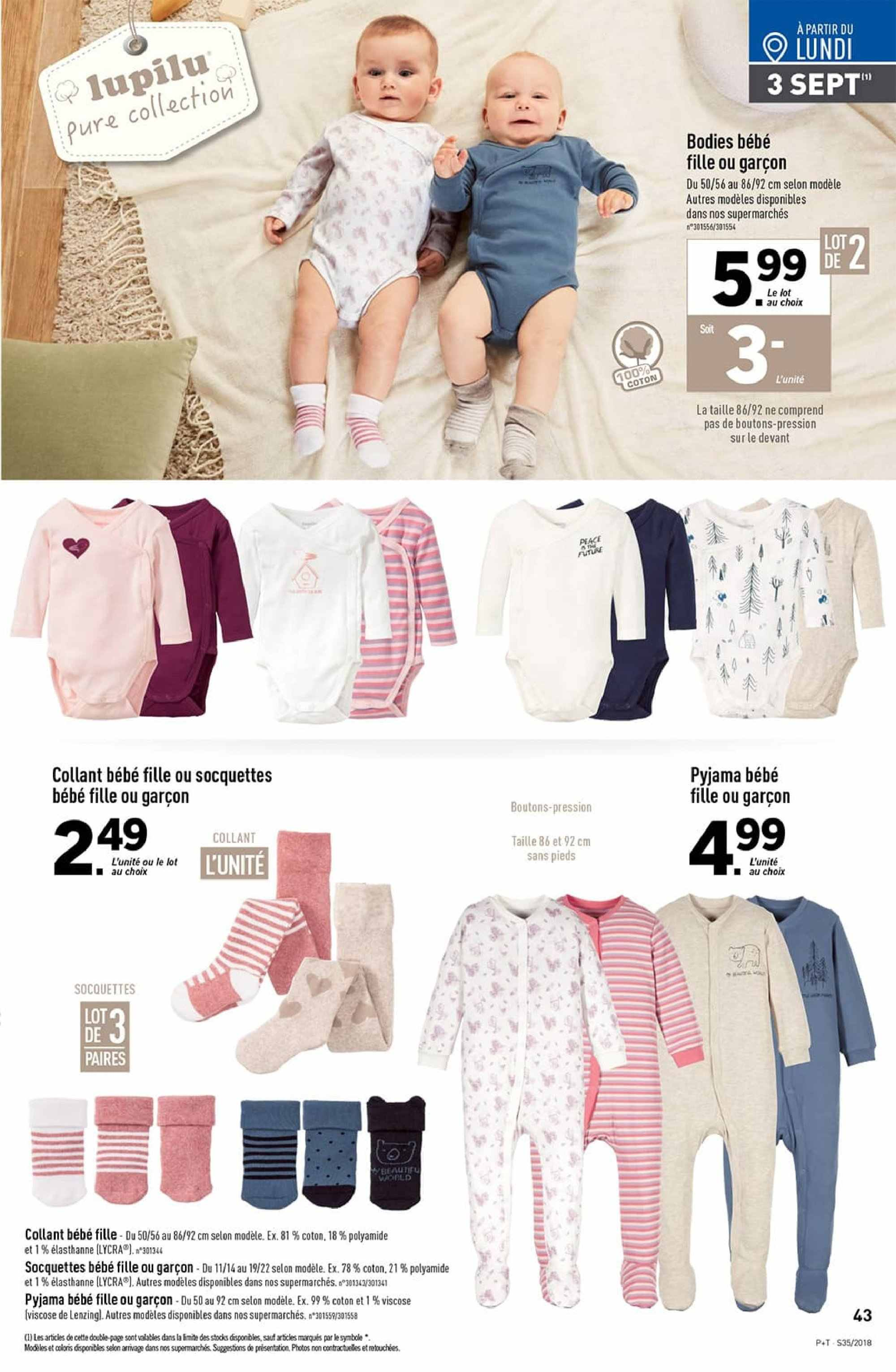 Catalogue Lidl - 29.08.2018 - 04.09.2018. Page 43.