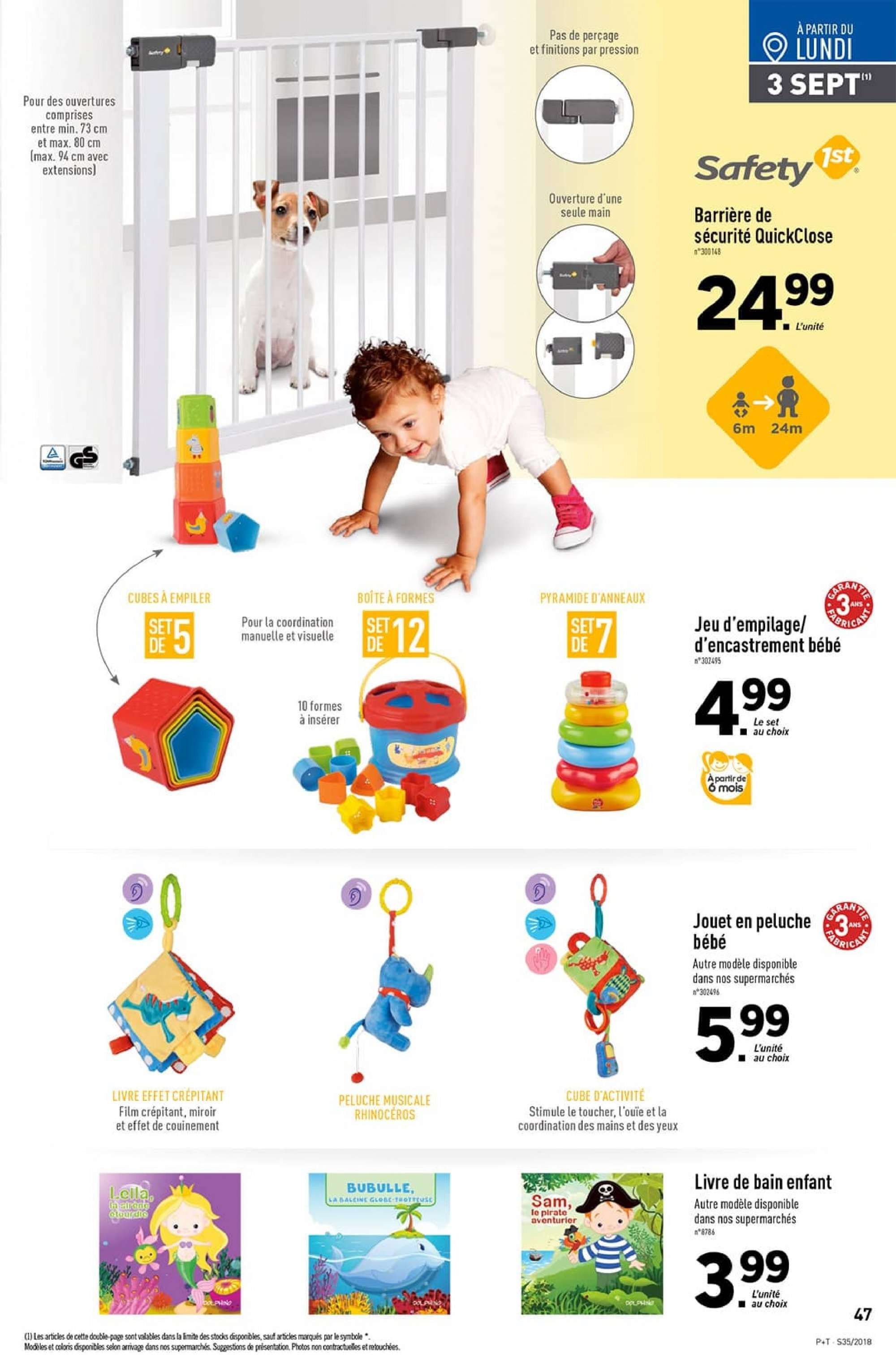 Catalogue Lidl - 29.08.2018 - 04.09.2018. Page 47.