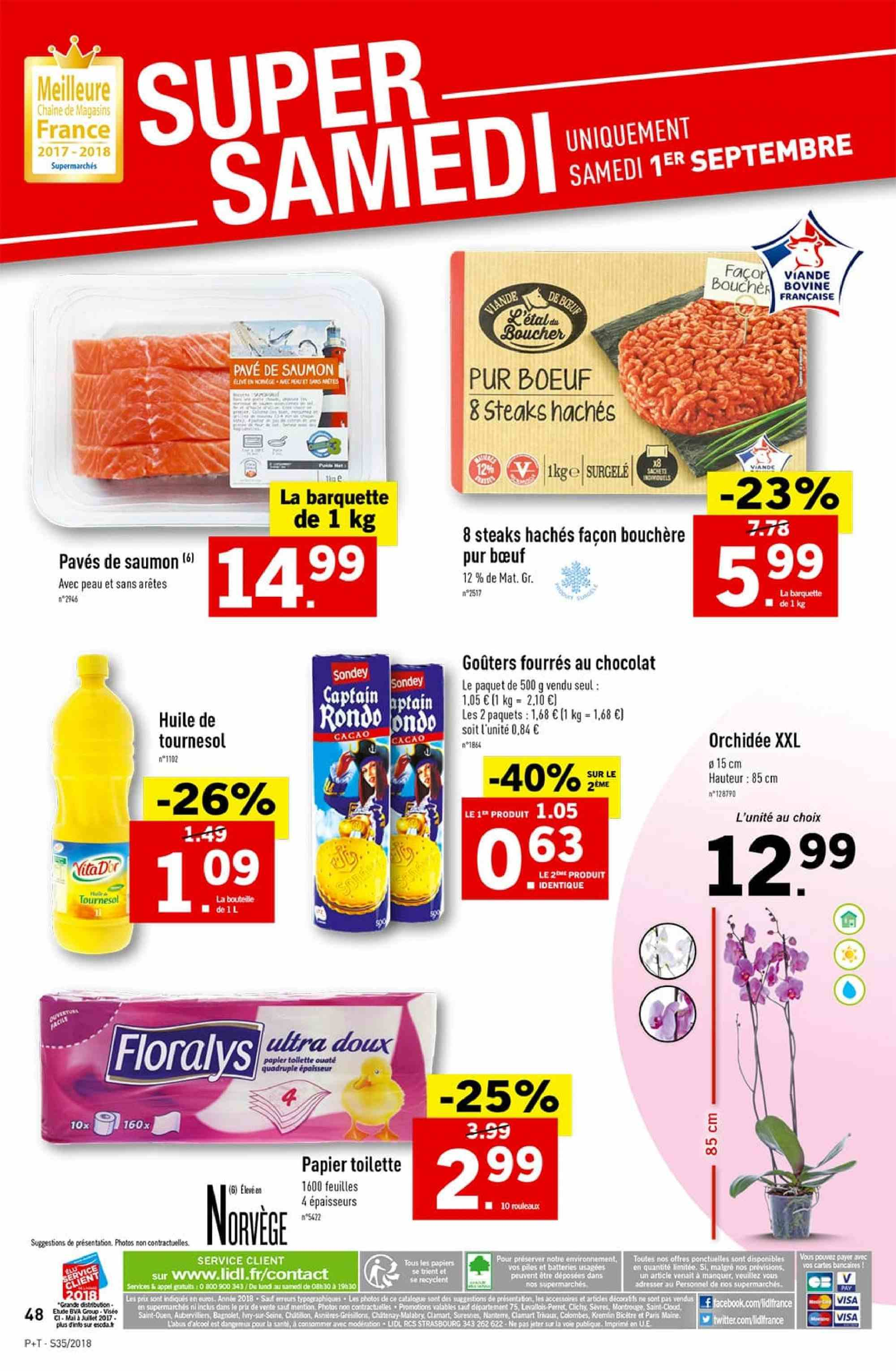 Catalogue Lidl - 29.08.2018 - 04.09.2018. Page 48.