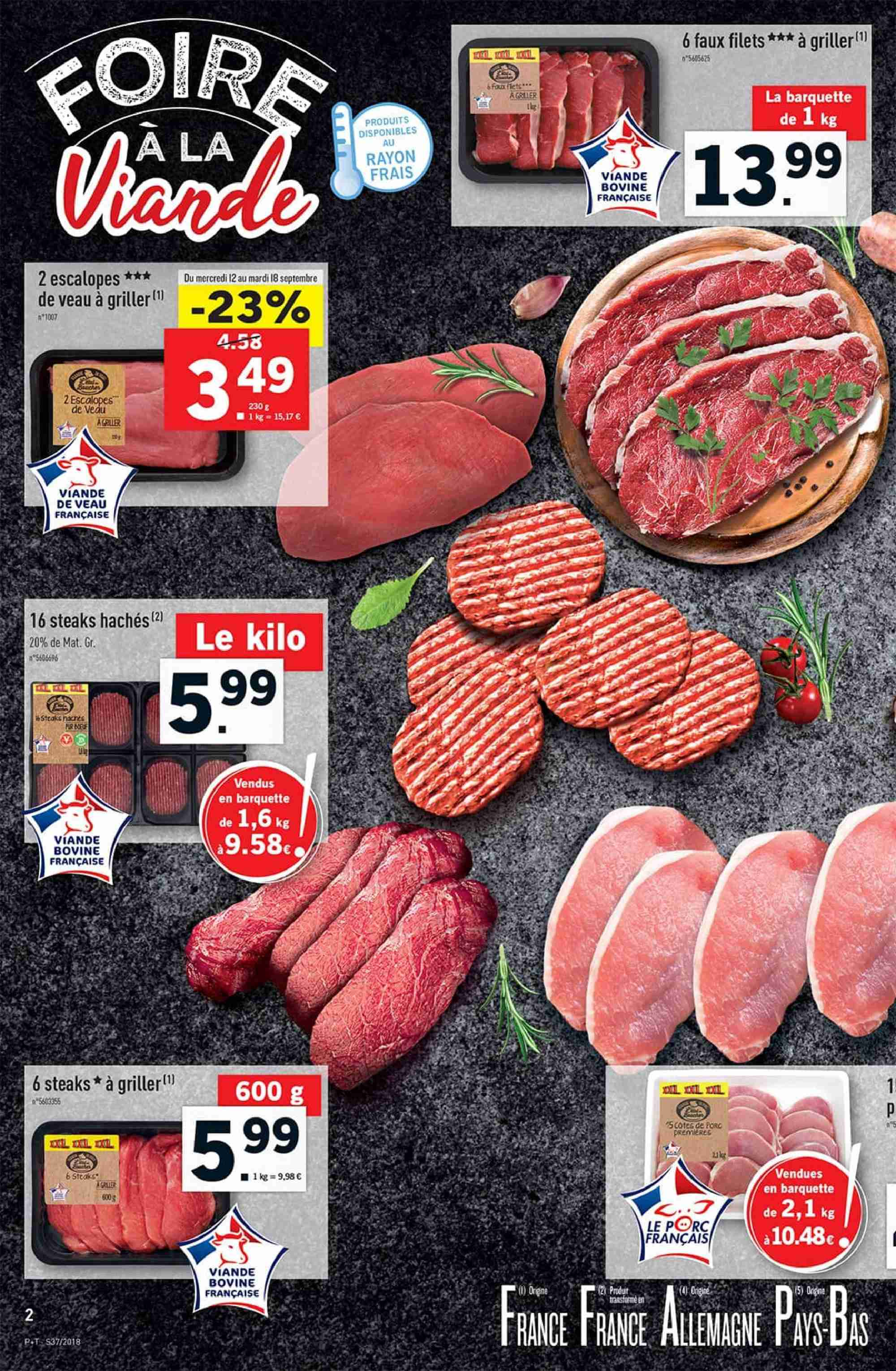 Catalogue Lidl - 12.09.2018 - 18.09.2018. Page 2.