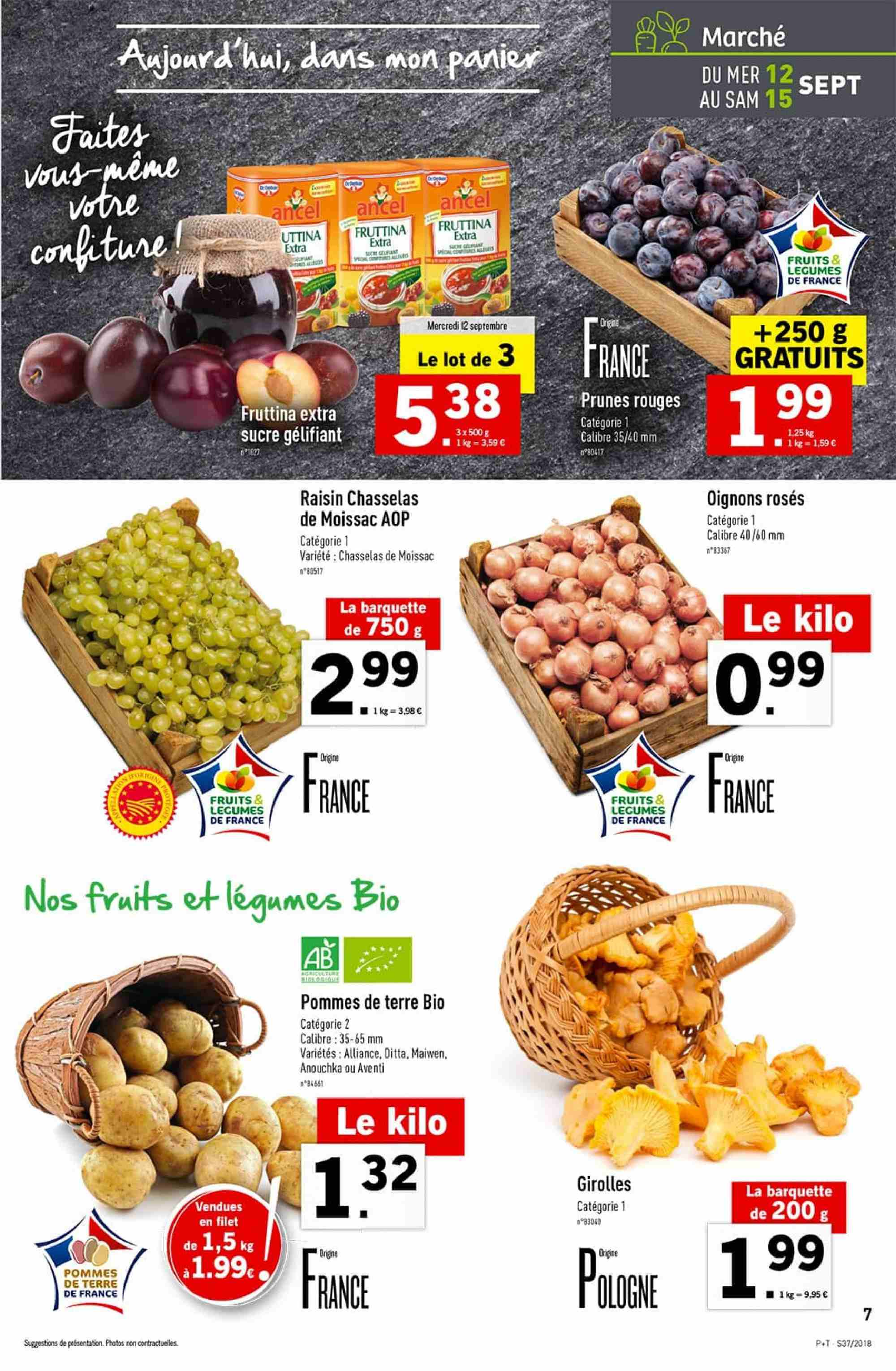 Catalogue Lidl - 12.09.2018 - 18.09.2018. Page 7.