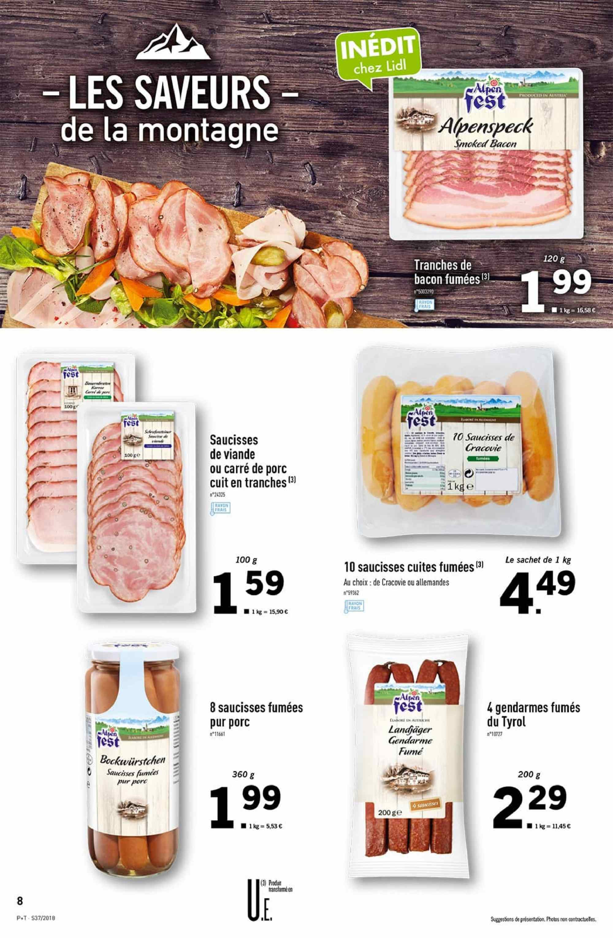 Catalogue Lidl - 12.09.2018 - 18.09.2018. Page 8.