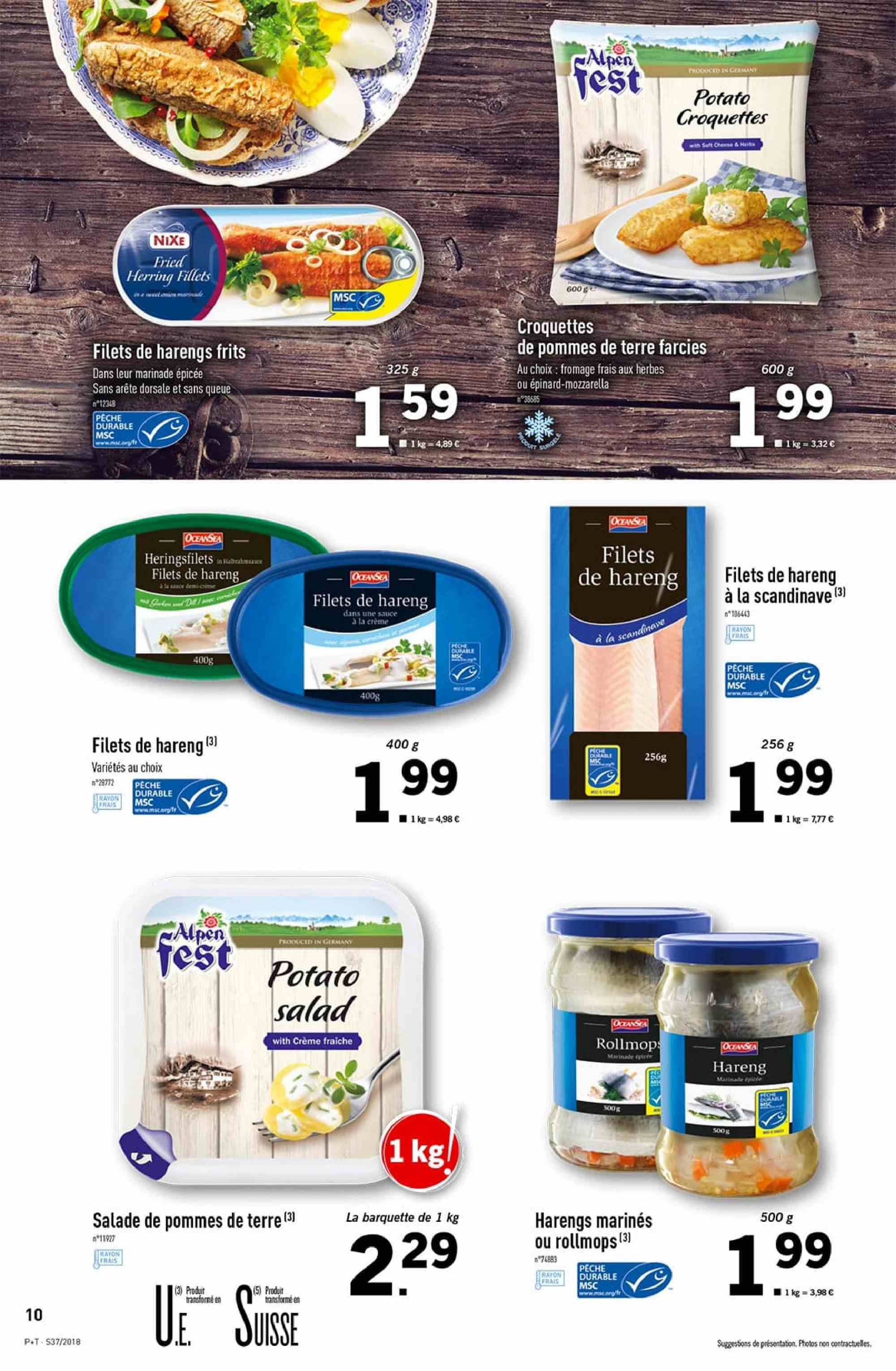 Catalogue Lidl - 12.09.2018 - 18.09.2018. Page 10.
