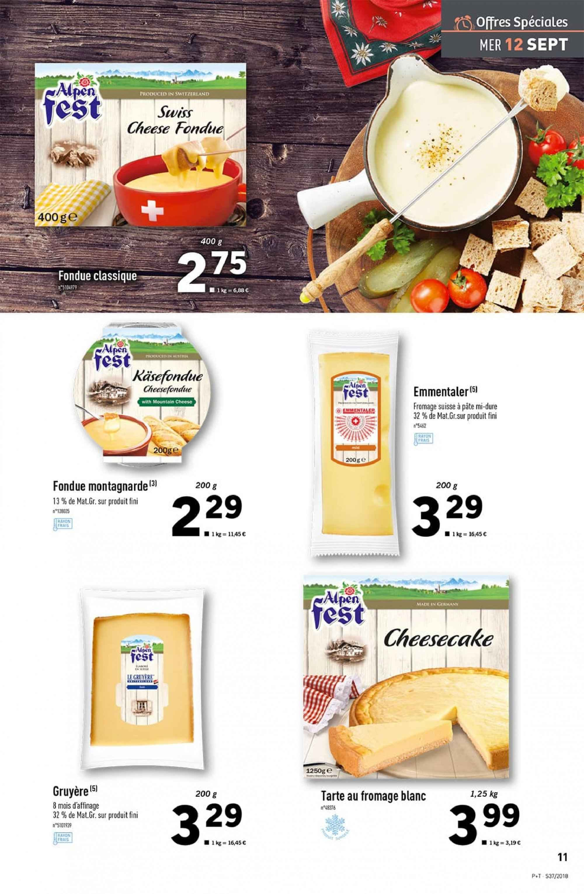 Catalogue Lidl - 12.09.2018 - 18.09.2018. Page 11.