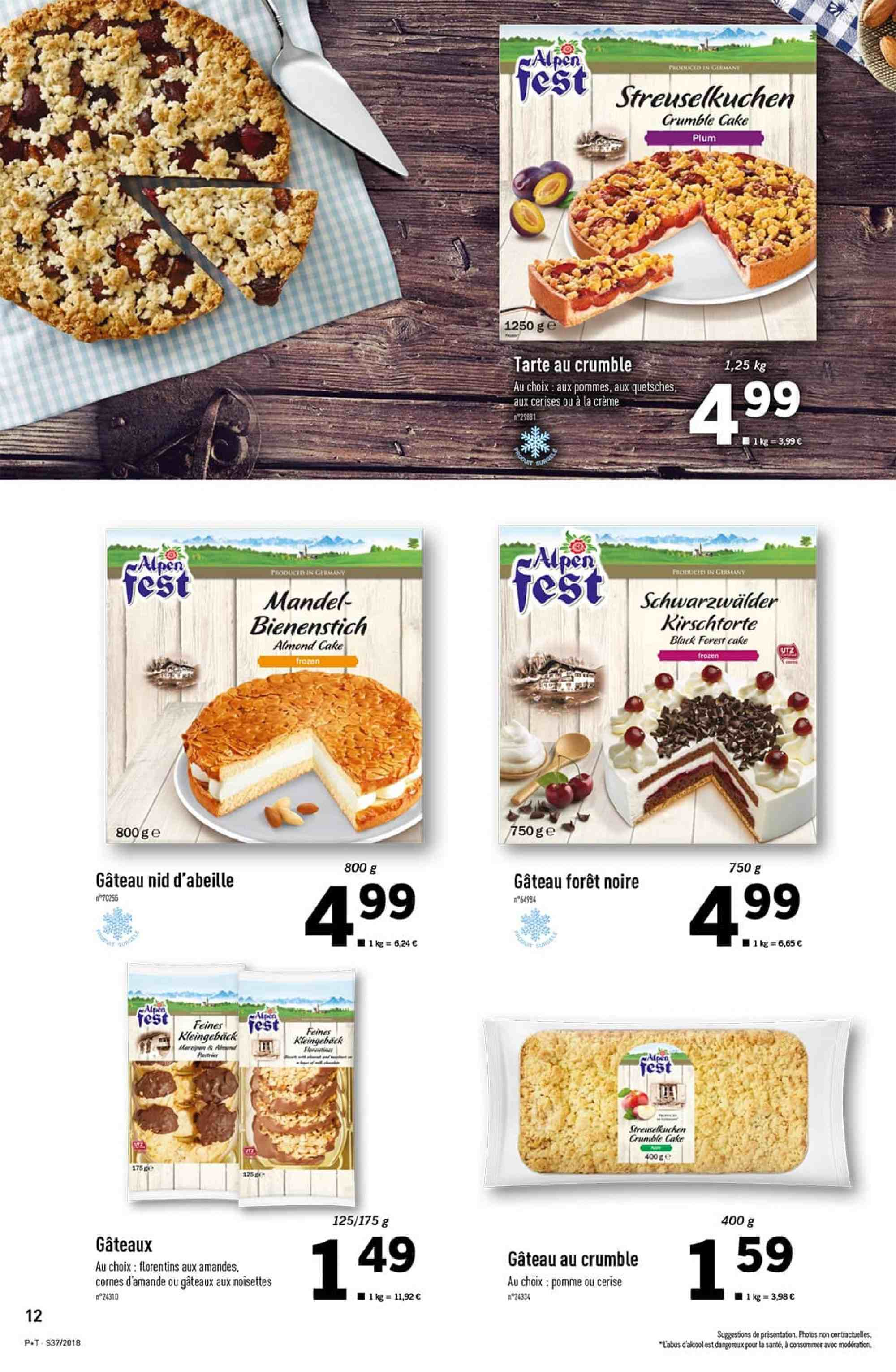 Catalogue Lidl - 12.09.2018 - 18.09.2018. Page 12.