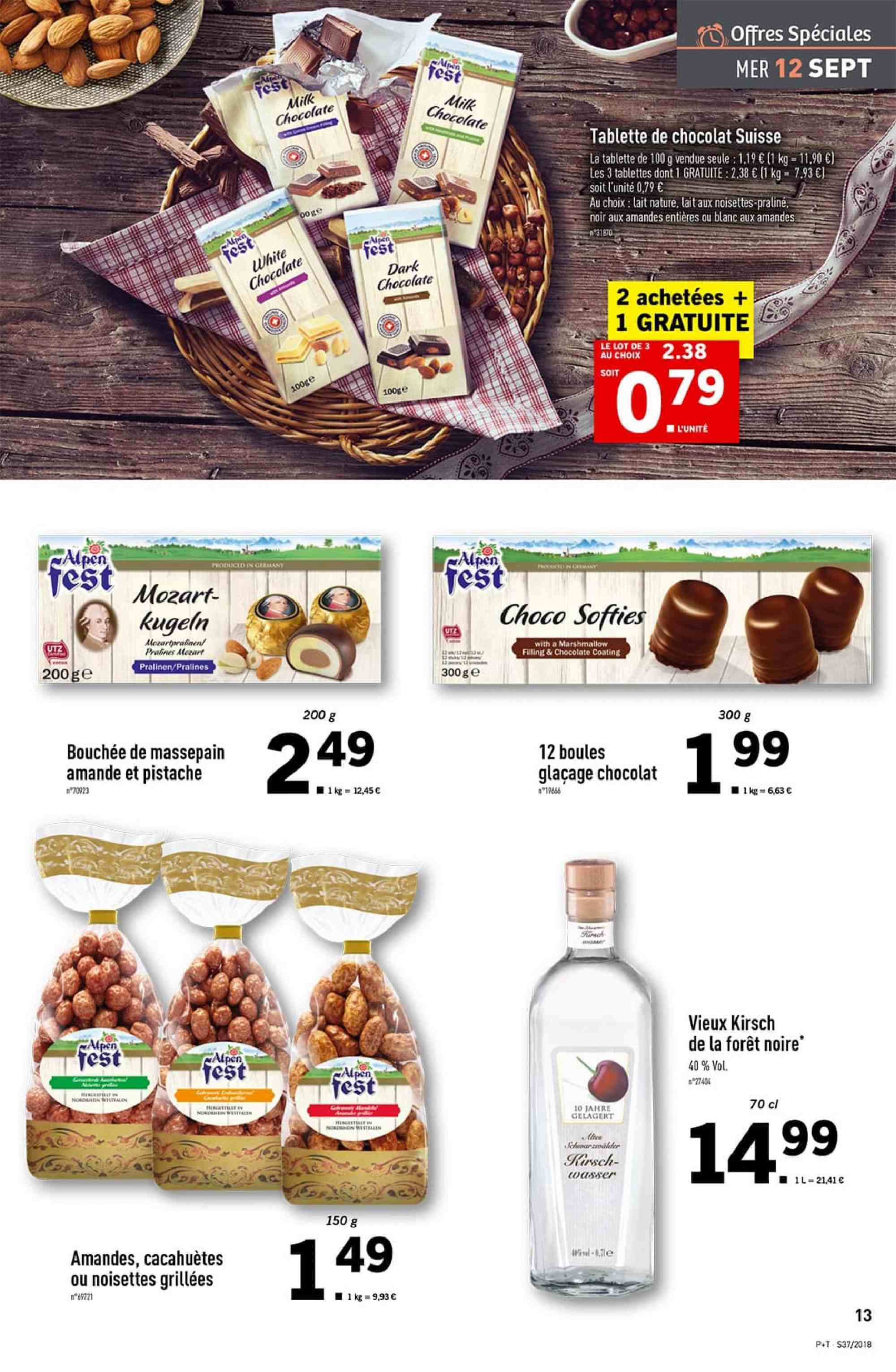 Catalogue Lidl - 12.09.2018 - 18.09.2018. Page 13.