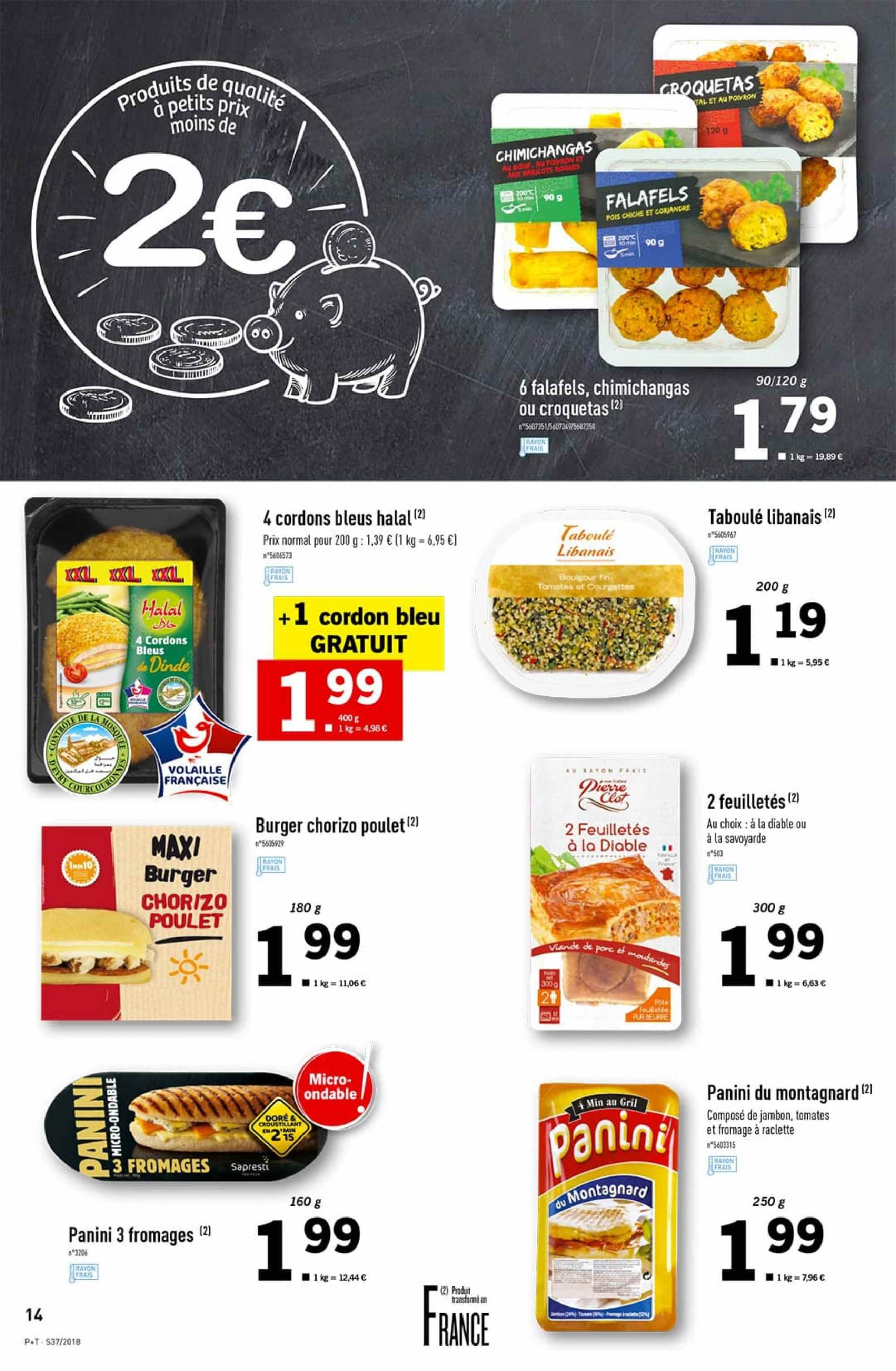 Catalogue Lidl - 12.09.2018 - 18.09.2018. Page 14.