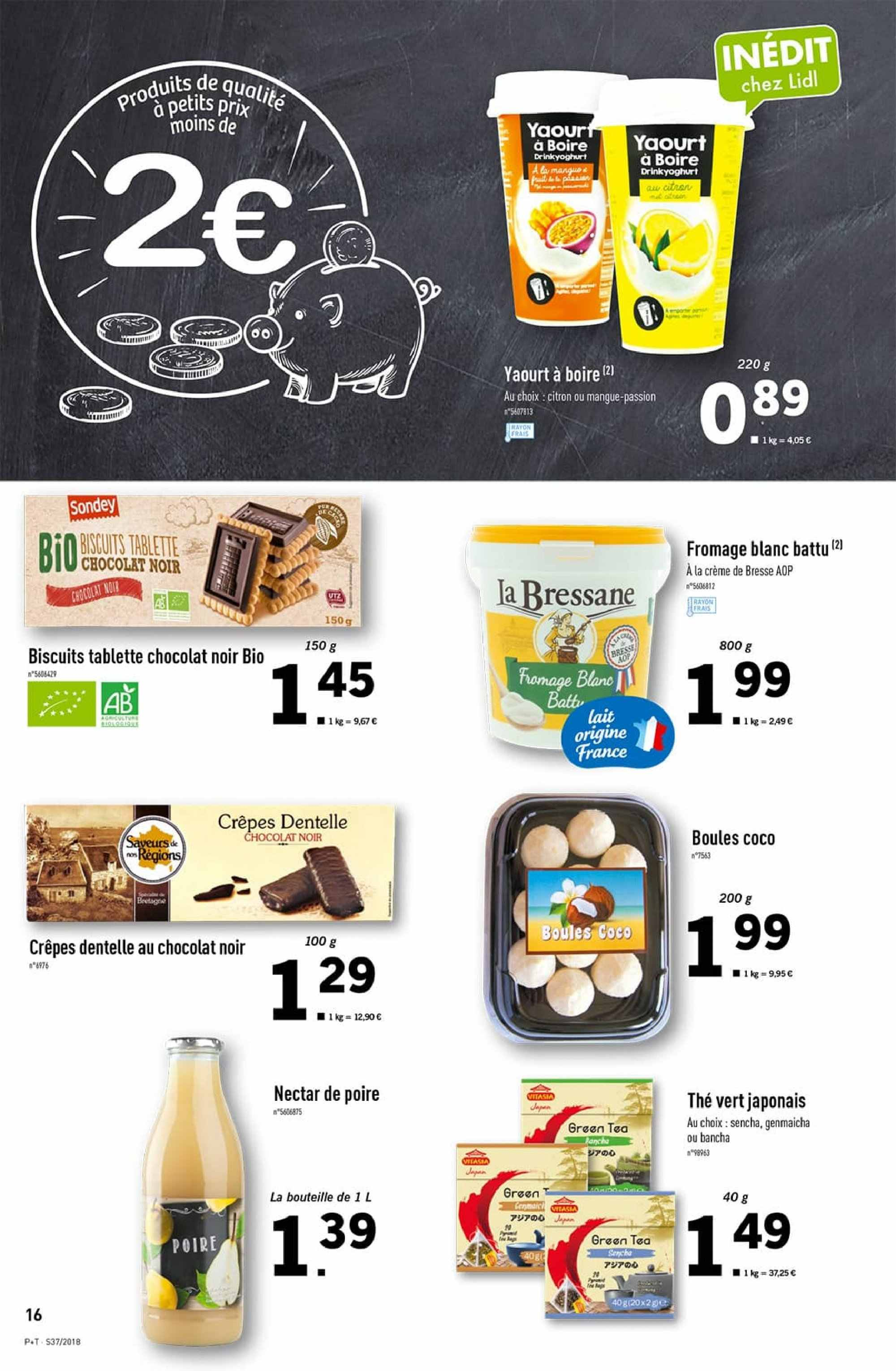 Catalogue Lidl - 12.09.2018 - 18.09.2018. Page 16.