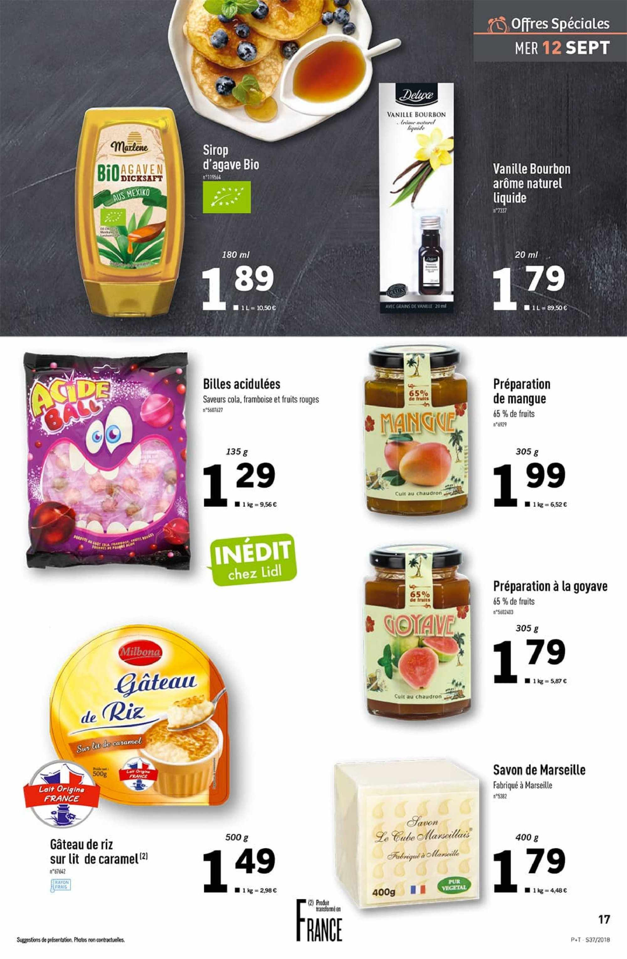 Catalogue Lidl - 12.09.2018 - 18.09.2018. Page 17.