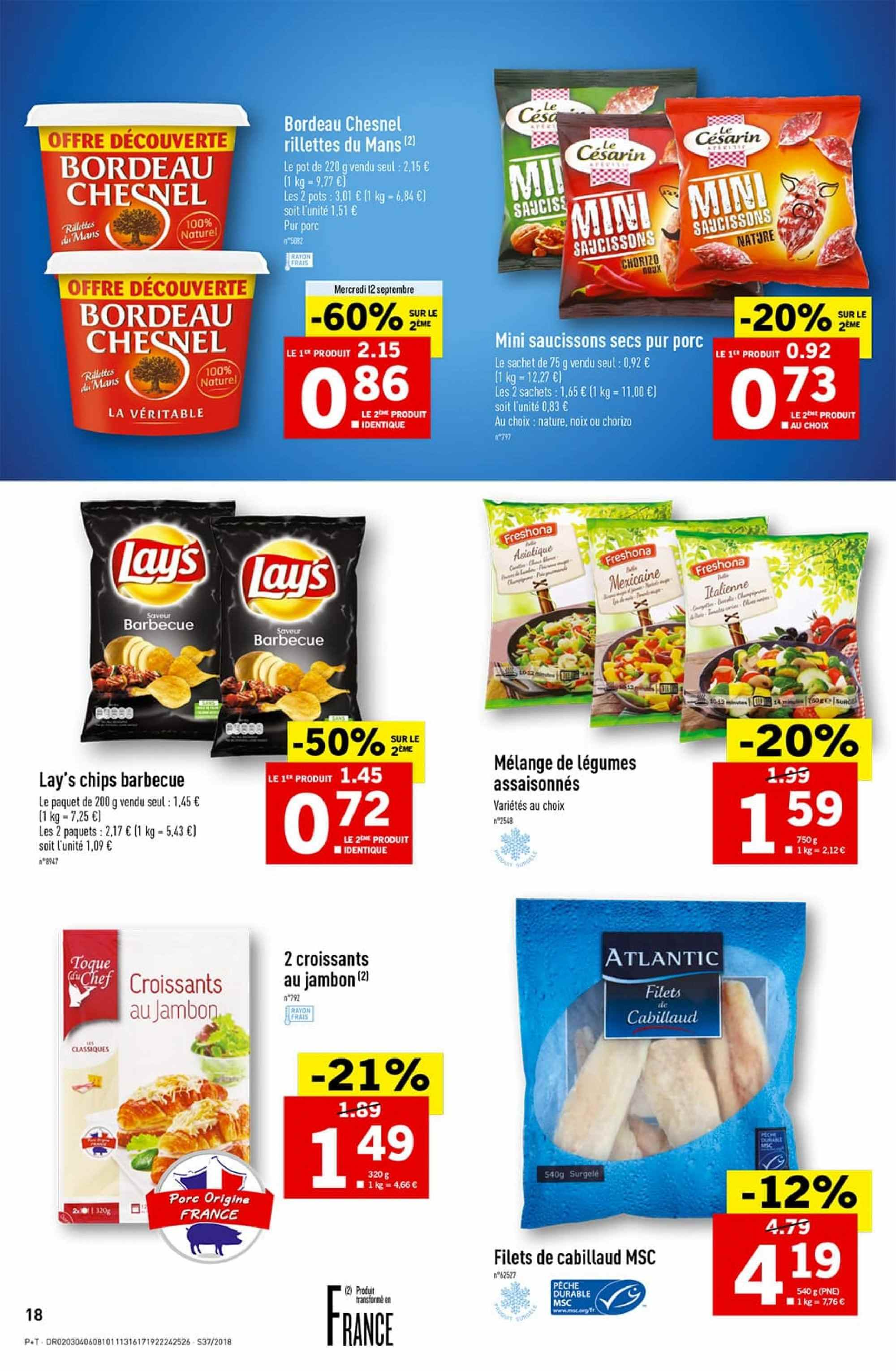 Catalogue Lidl - 12.09.2018 - 18.09.2018. Page 18.