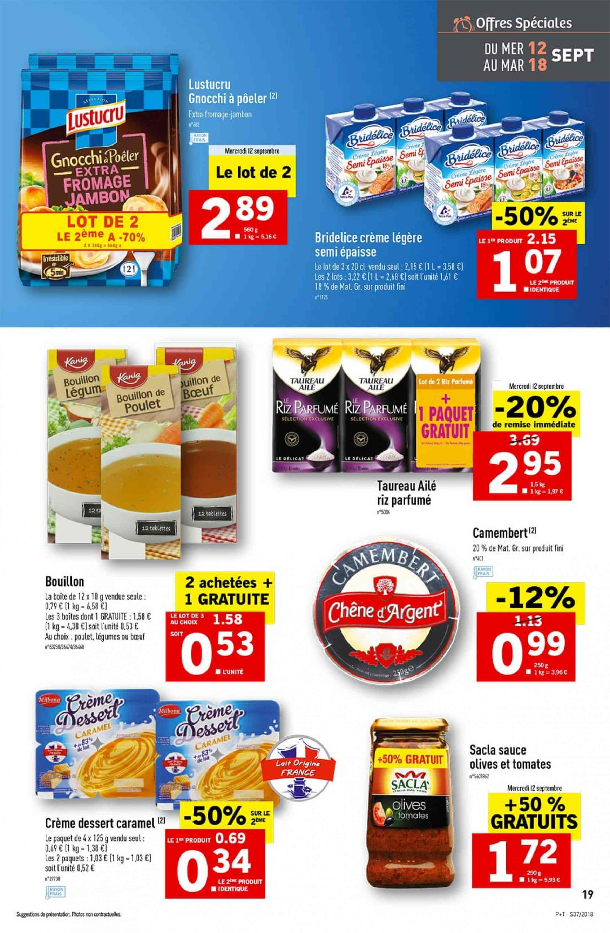Catalogue Lidl - 12.09.2018 - 18.09.2018. Page 19.