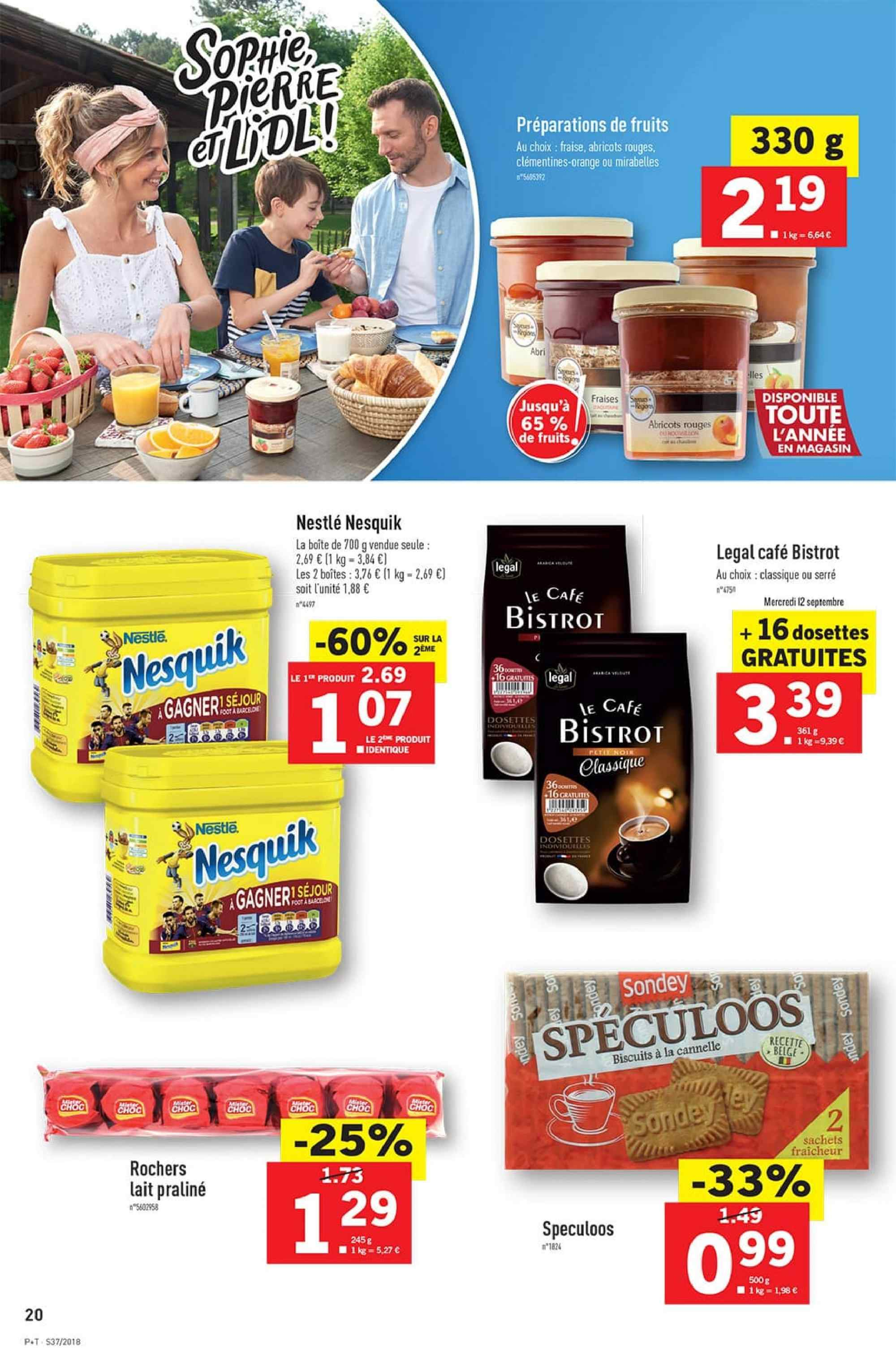 Catalogue Lidl - 12.09.2018 - 18.09.2018. Page 20.