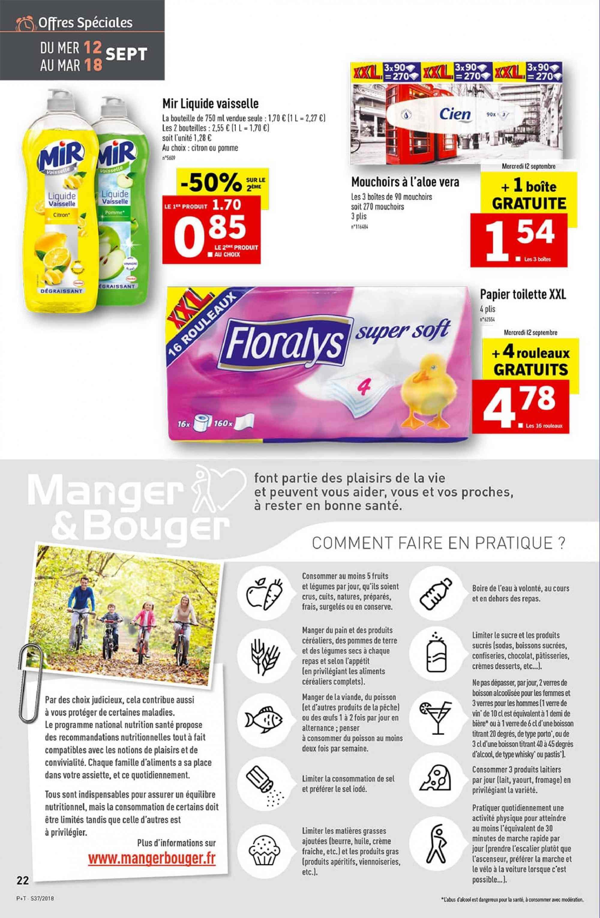 Catalogue Lidl - 12.09.2018 - 18.09.2018. Page 22.
