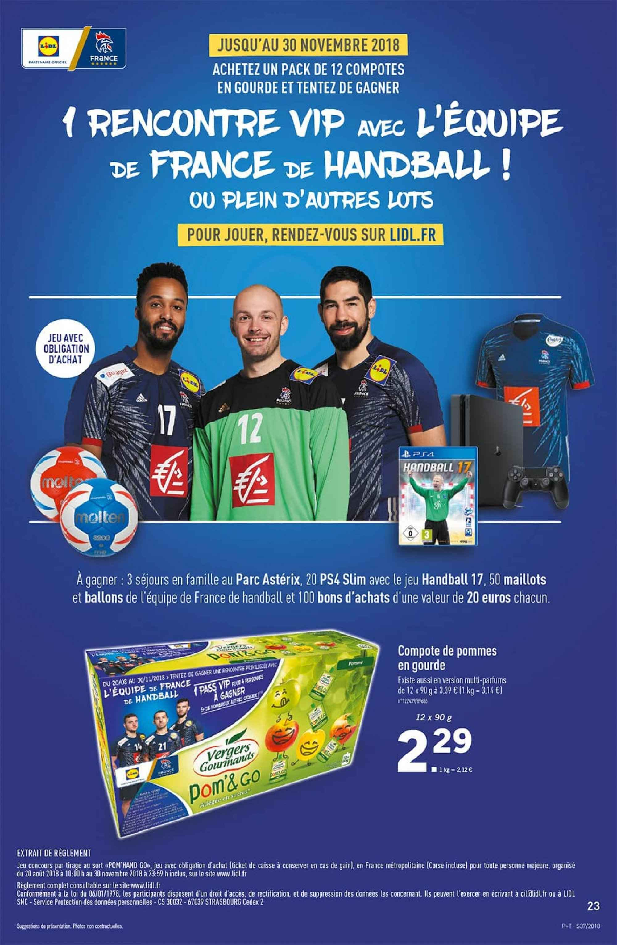 Catalogue Lidl - 12.09.2018 - 18.09.2018. Page 23.
