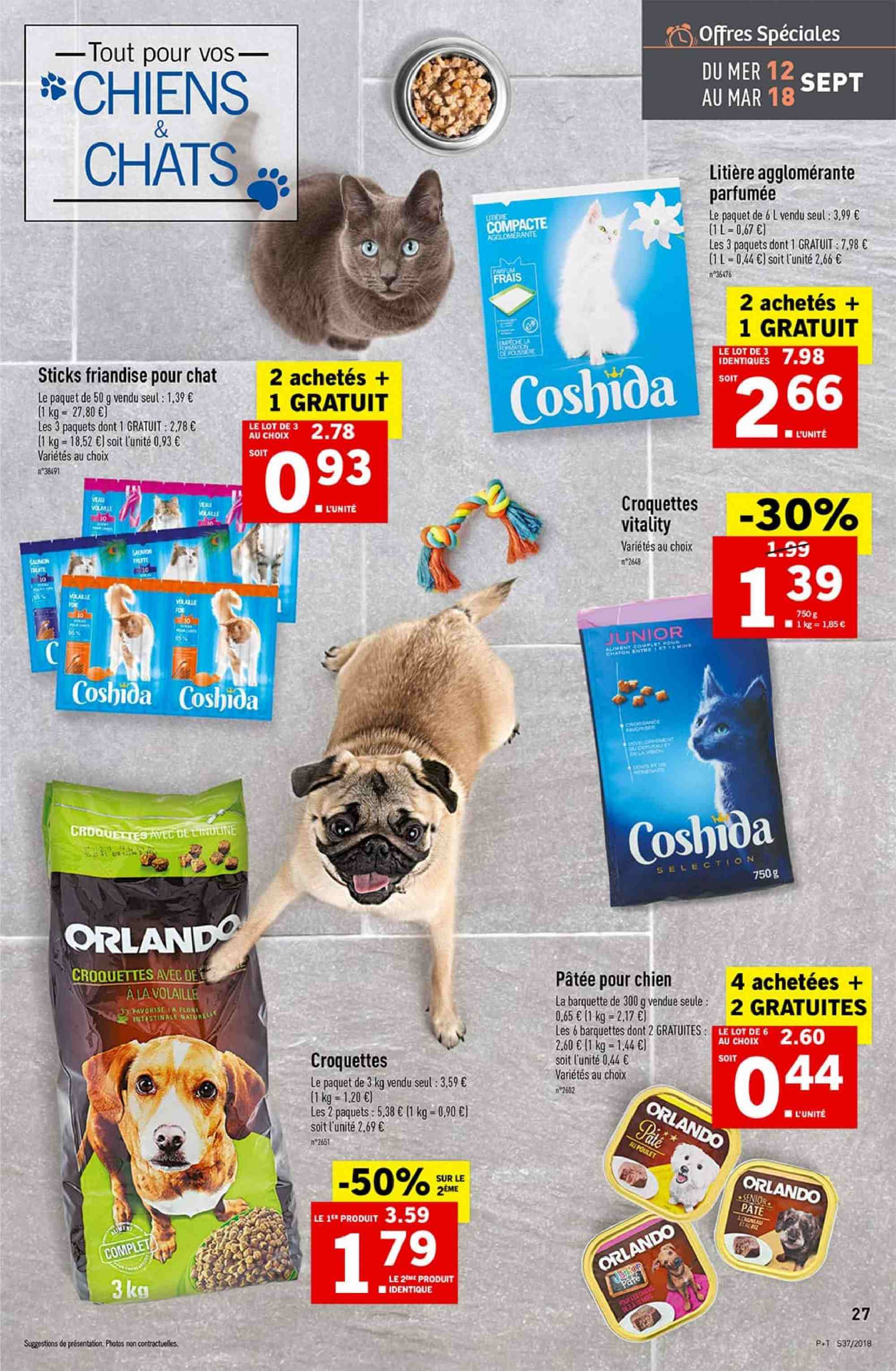 Catalogue Lidl - 12.09.2018 - 18.09.2018. Page 27.
