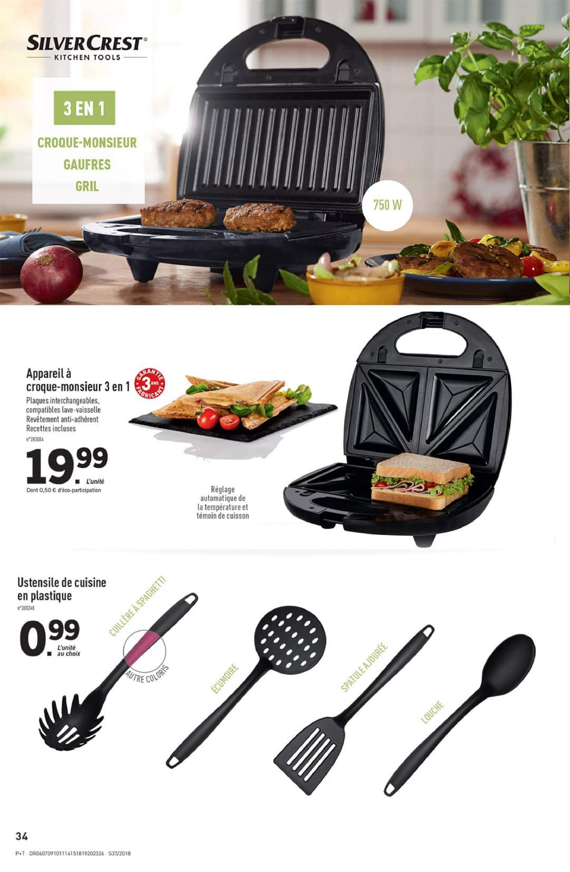 Catalogue Lidl - 12.09.2018 - 18.09.2018. Page 34.