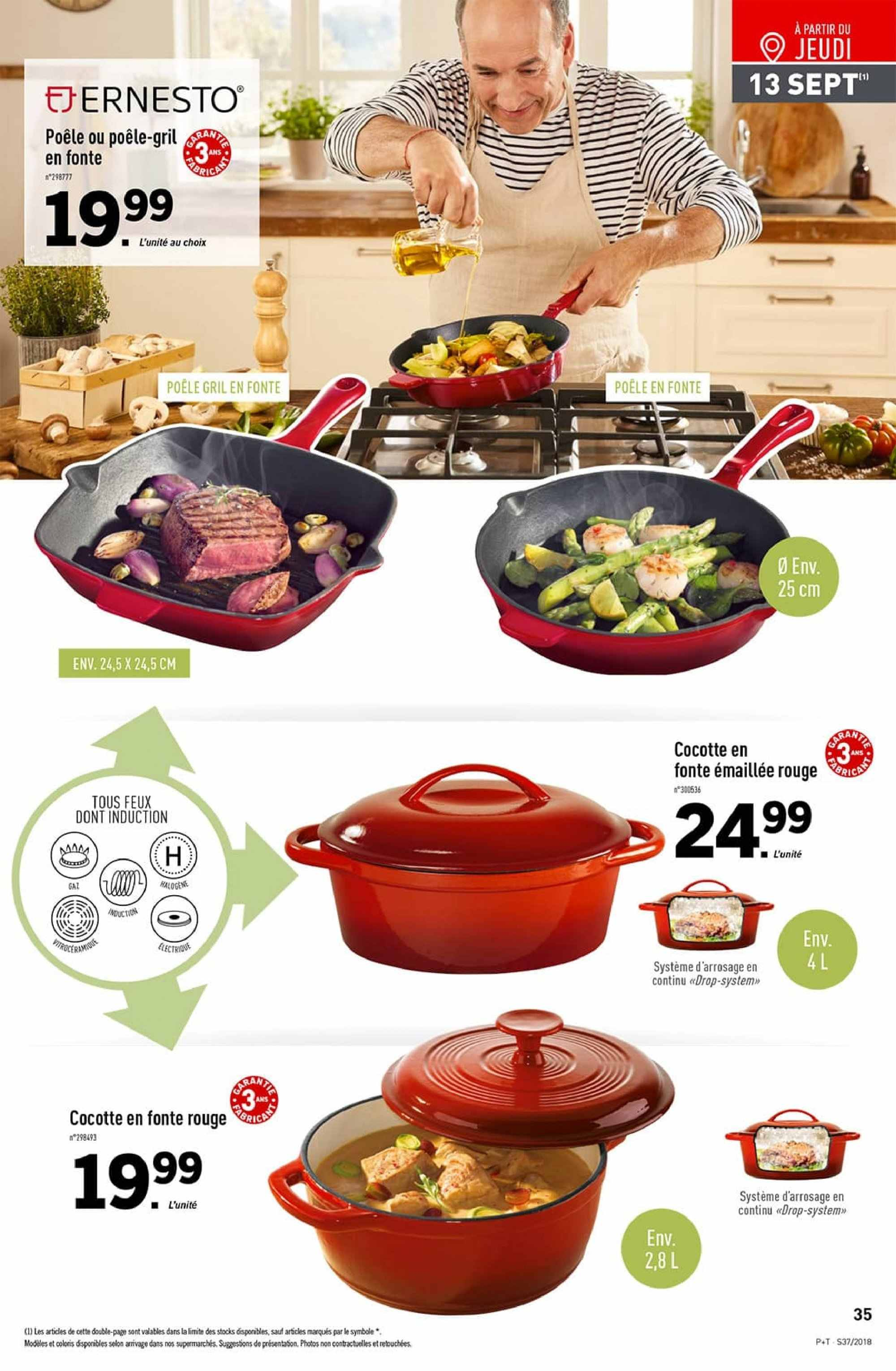 Catalogue Lidl - 12.09.2018 - 18.09.2018. Page 35.