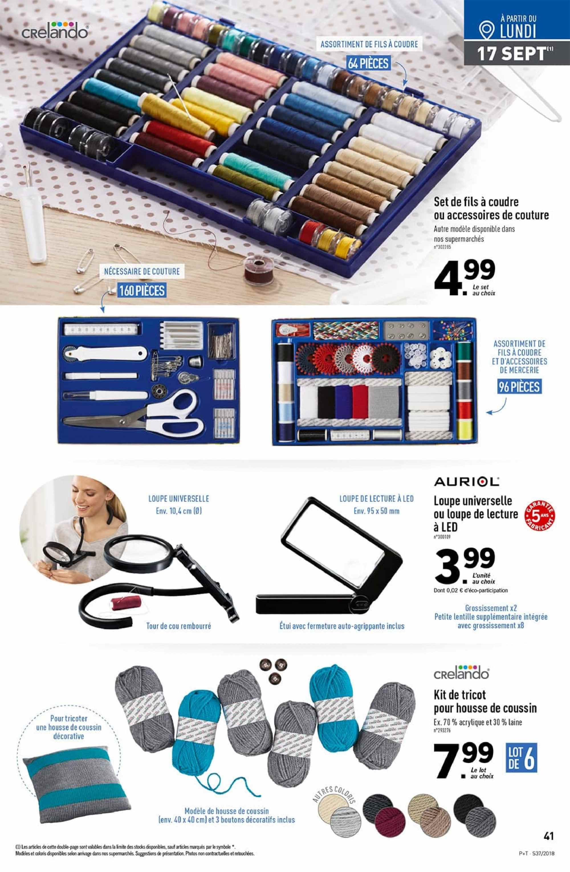 Catalogue Lidl - 12.09.2018 - 18.09.2018. Page 41.