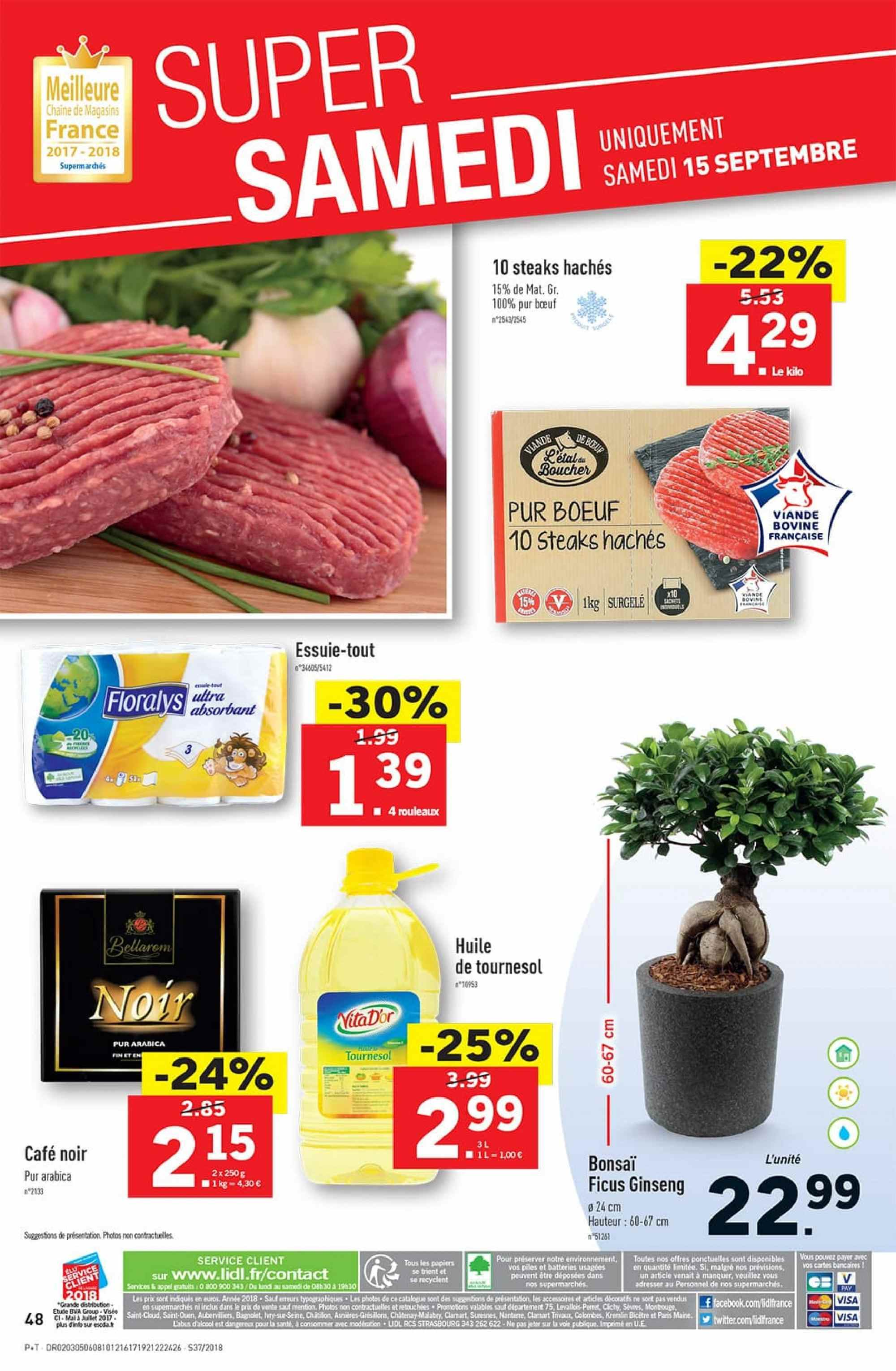 Catalogue Lidl - 12.09.2018 - 18.09.2018. Page 48.