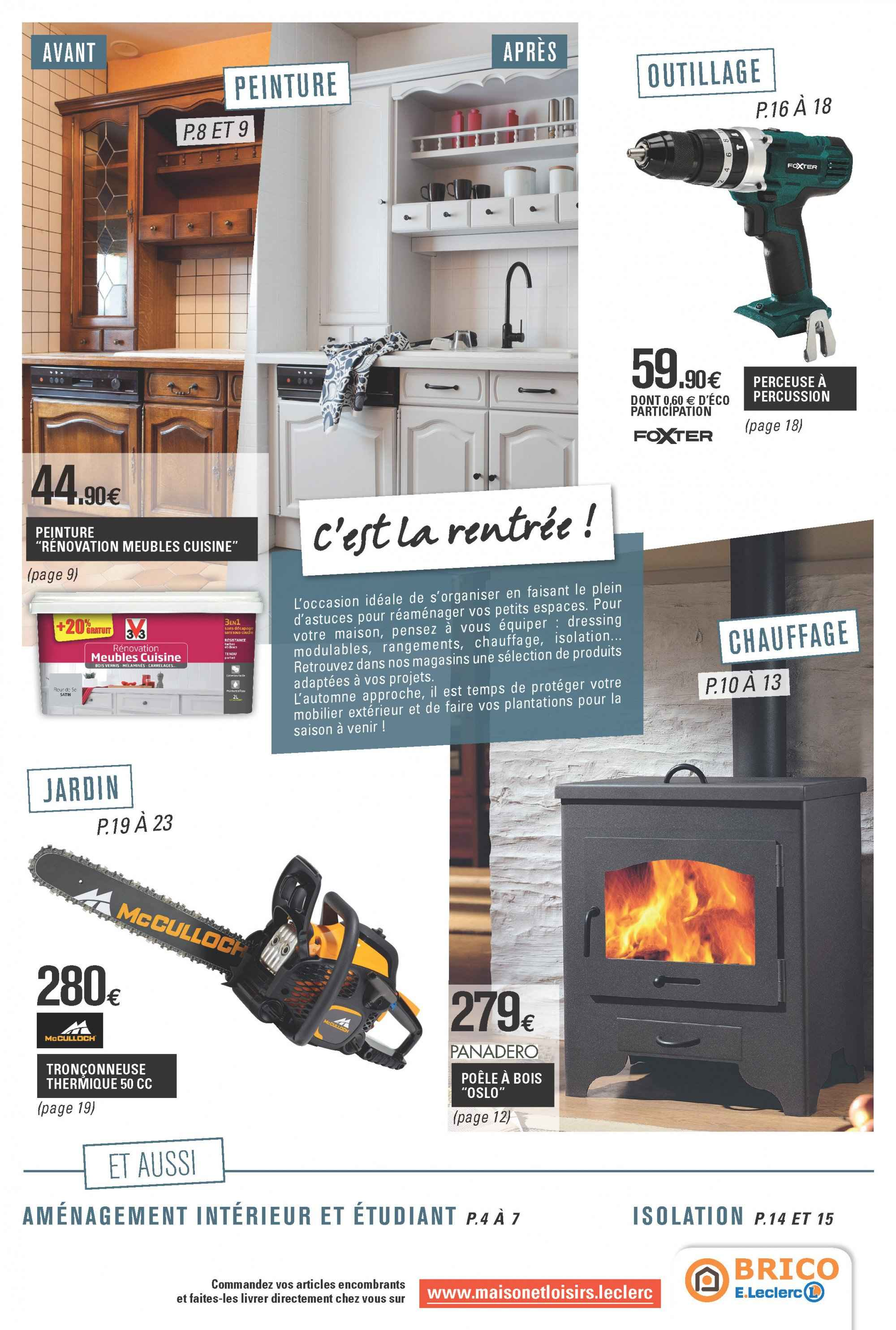 Catalogue E.Leclerc - 11.09.2018 - 29.09.2018. Page 3.