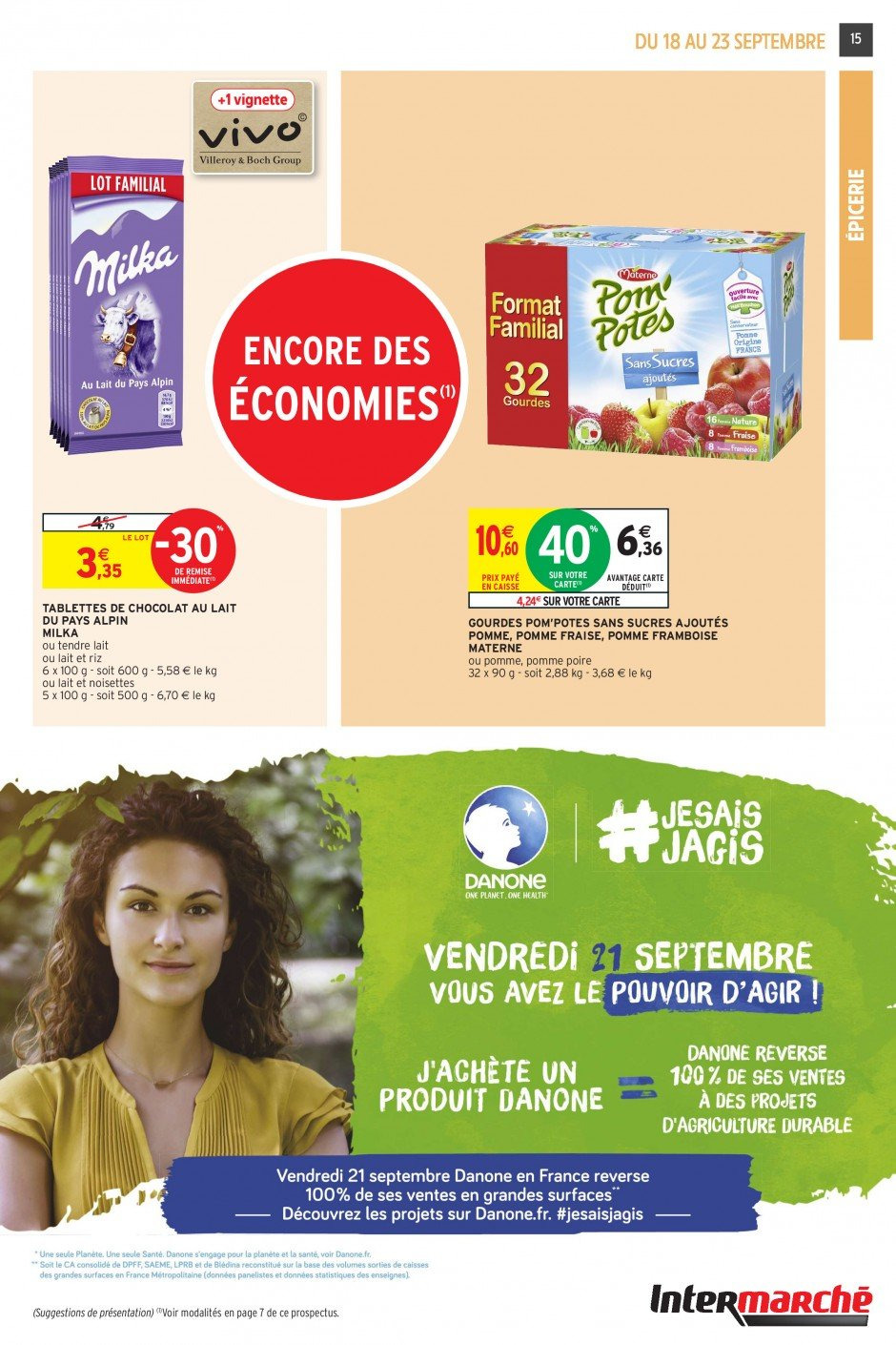 Catalogue Intermarché - 18.09.2018 - 23.09.2018. Page 15.