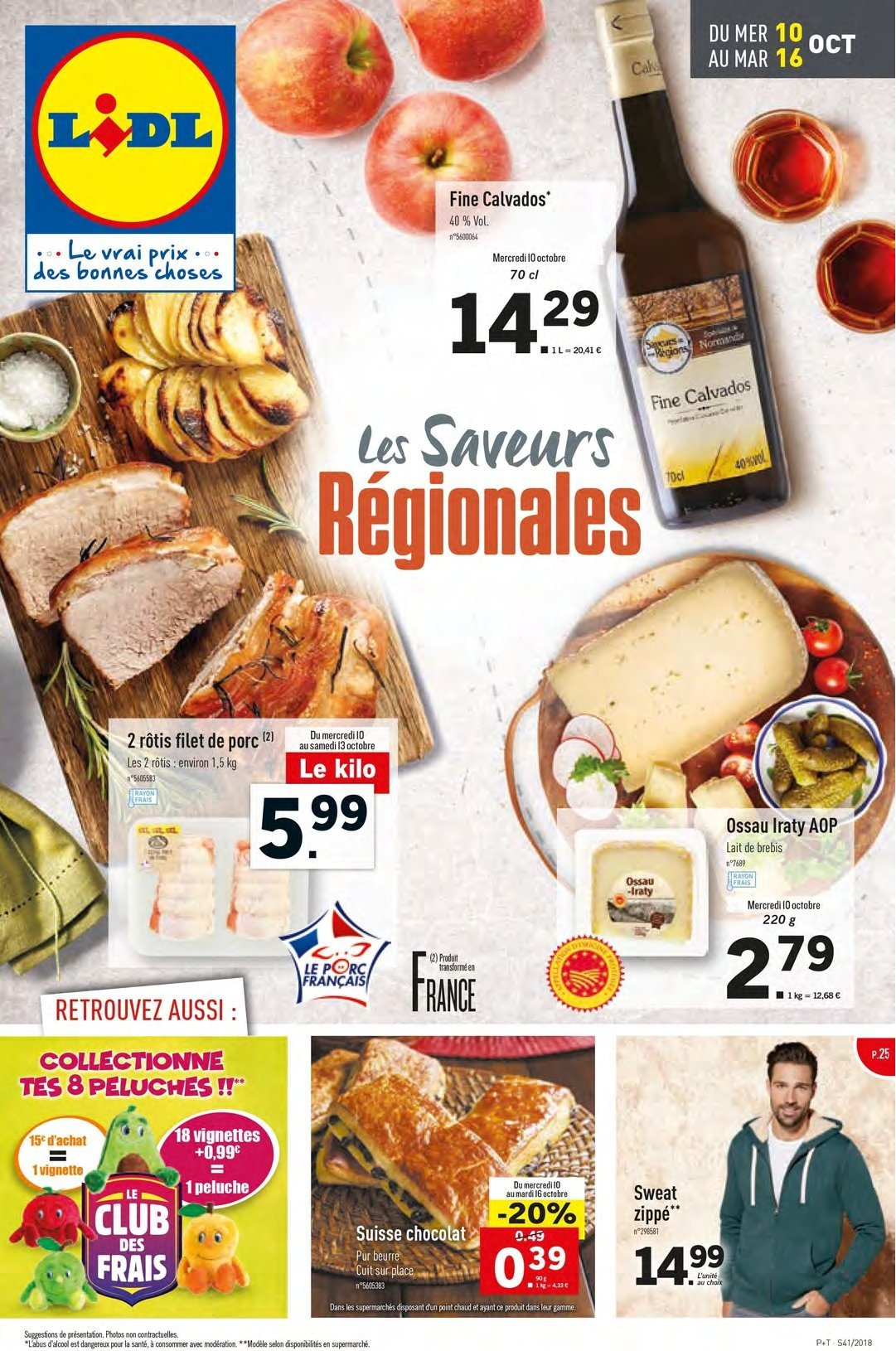Catalogue Lidl - 10.10.2018 - 16.10.2018. Page 1.