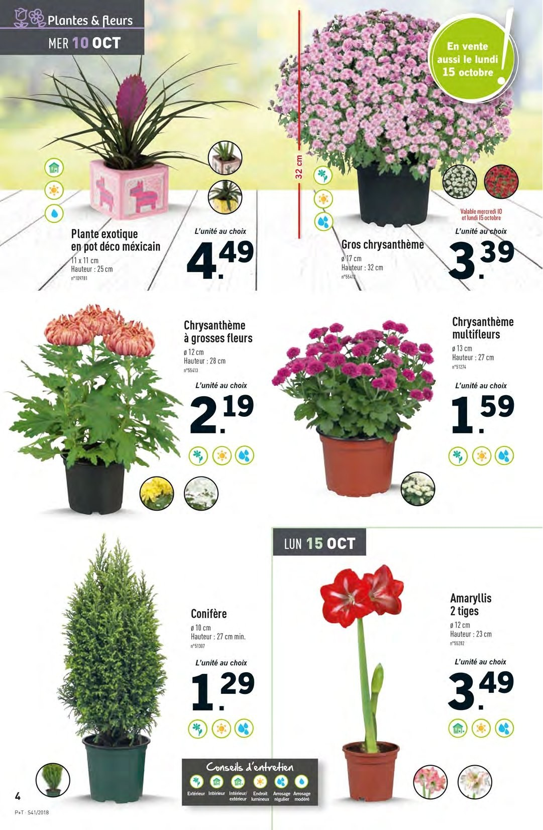 Catalogue Lidl - 10.10.2018 - 16.10.2018. Page 4.
