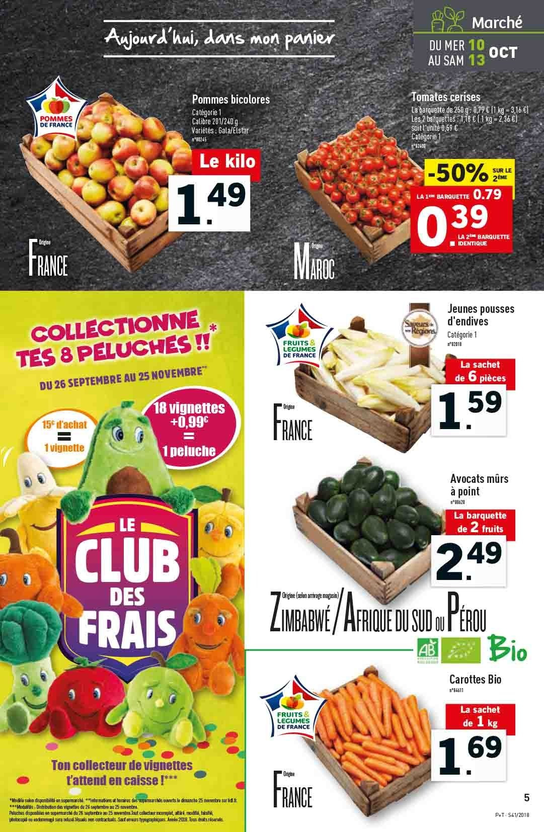Catalogue Lidl - 10.10.2018 - 16.10.2018. Page 5.