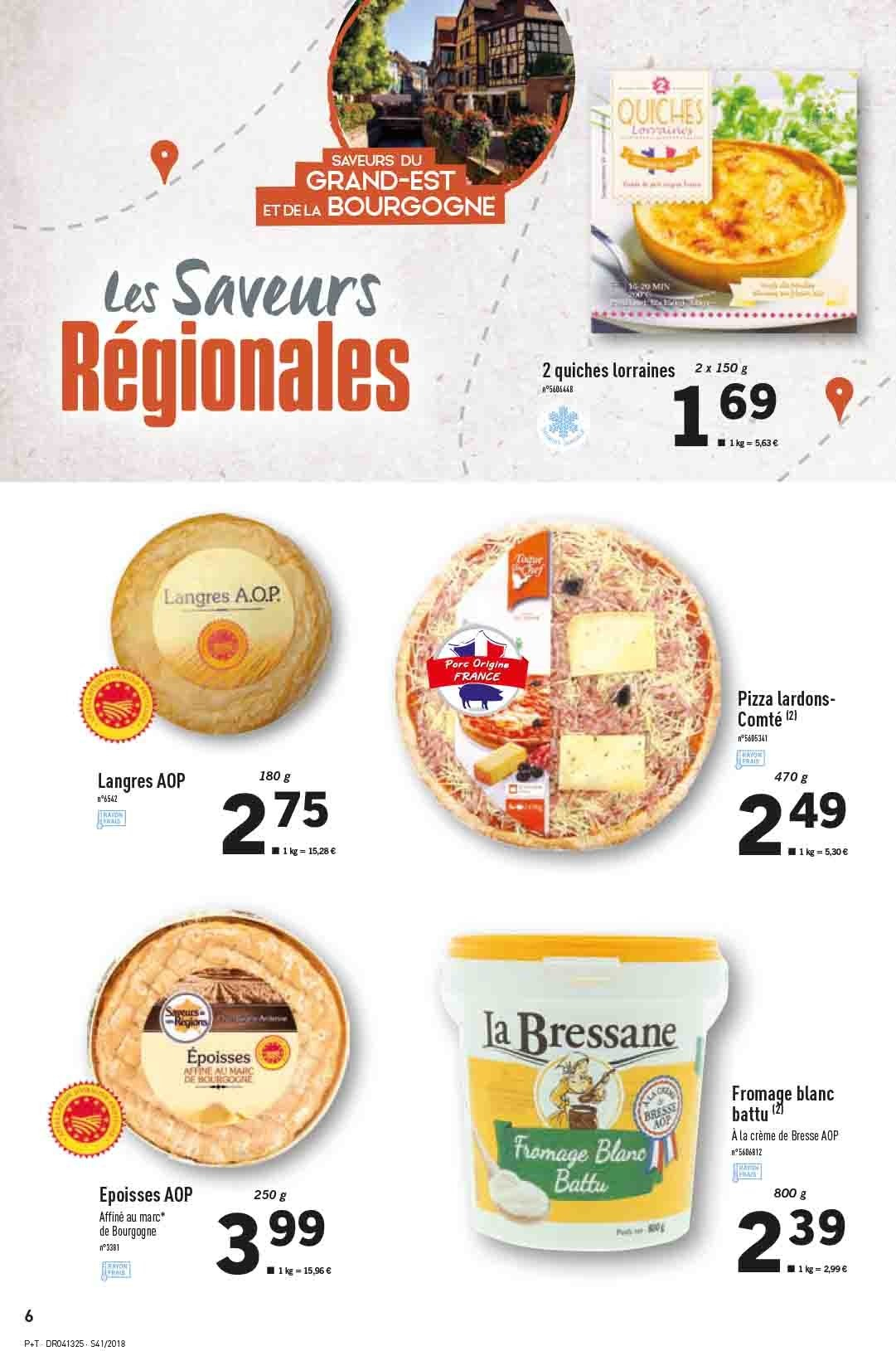Catalogue Lidl - 10.10.2018 - 16.10.2018. Page 6.