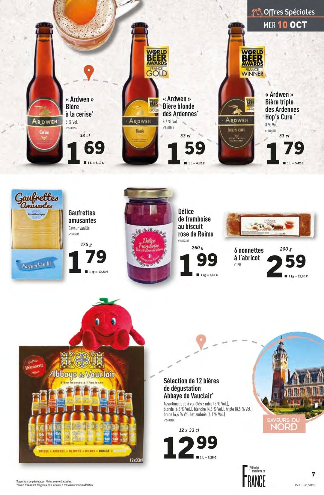 Catalogue Lidl - 10.10.2018 - 16.10.2018. Page 7.