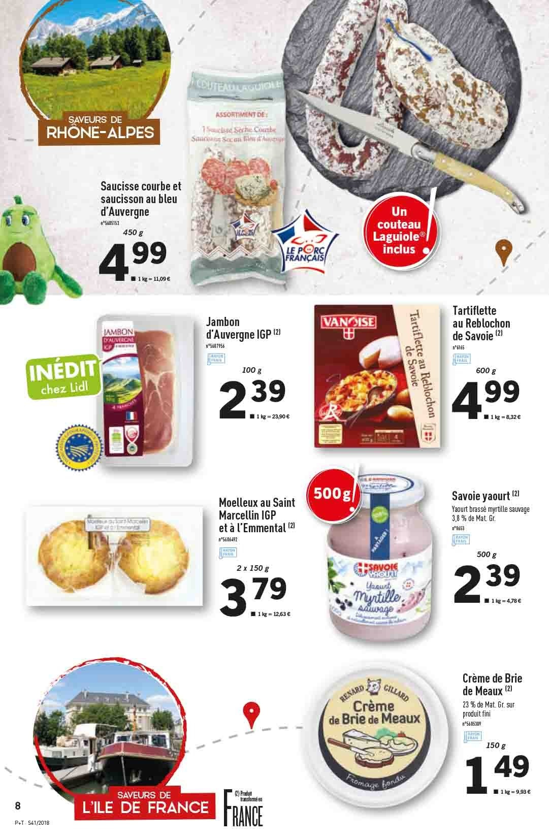 Catalogue Lidl - 10.10.2018 - 16.10.2018. Page 8.