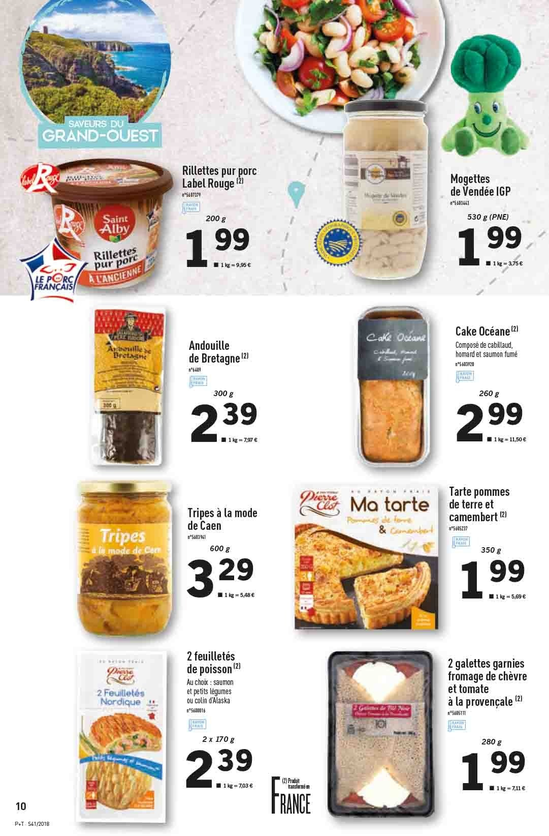 Catalogue Lidl - 10.10.2018 - 16.10.2018. Page 10.