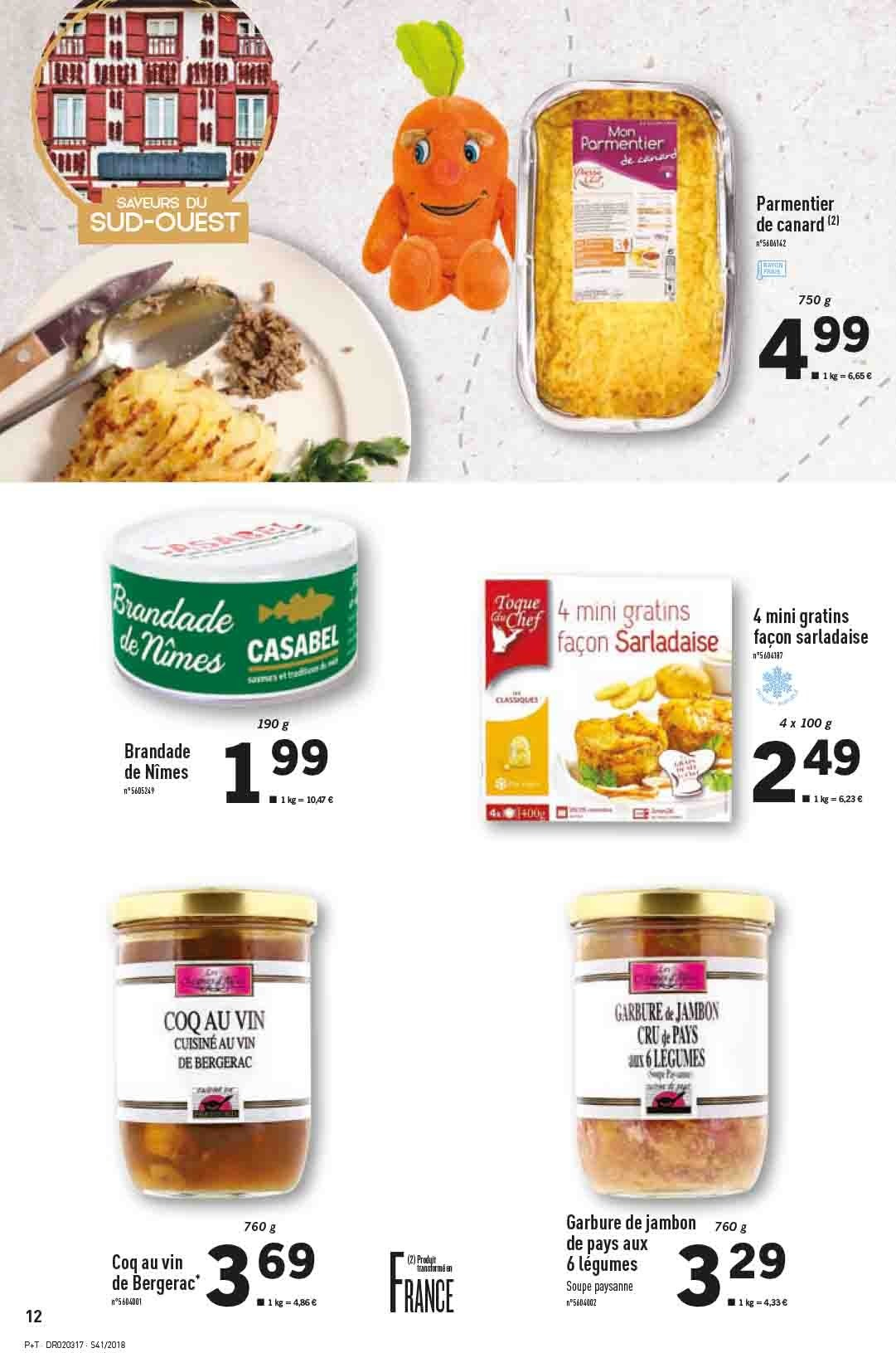 Catalogue Lidl - 10.10.2018 - 16.10.2018. Page 12.