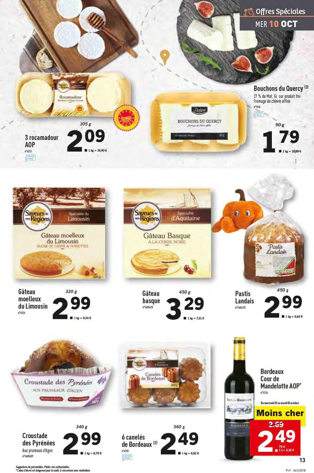 Catalogue Lidl - 10.10.2018 - 16.10.2018. Page 13.