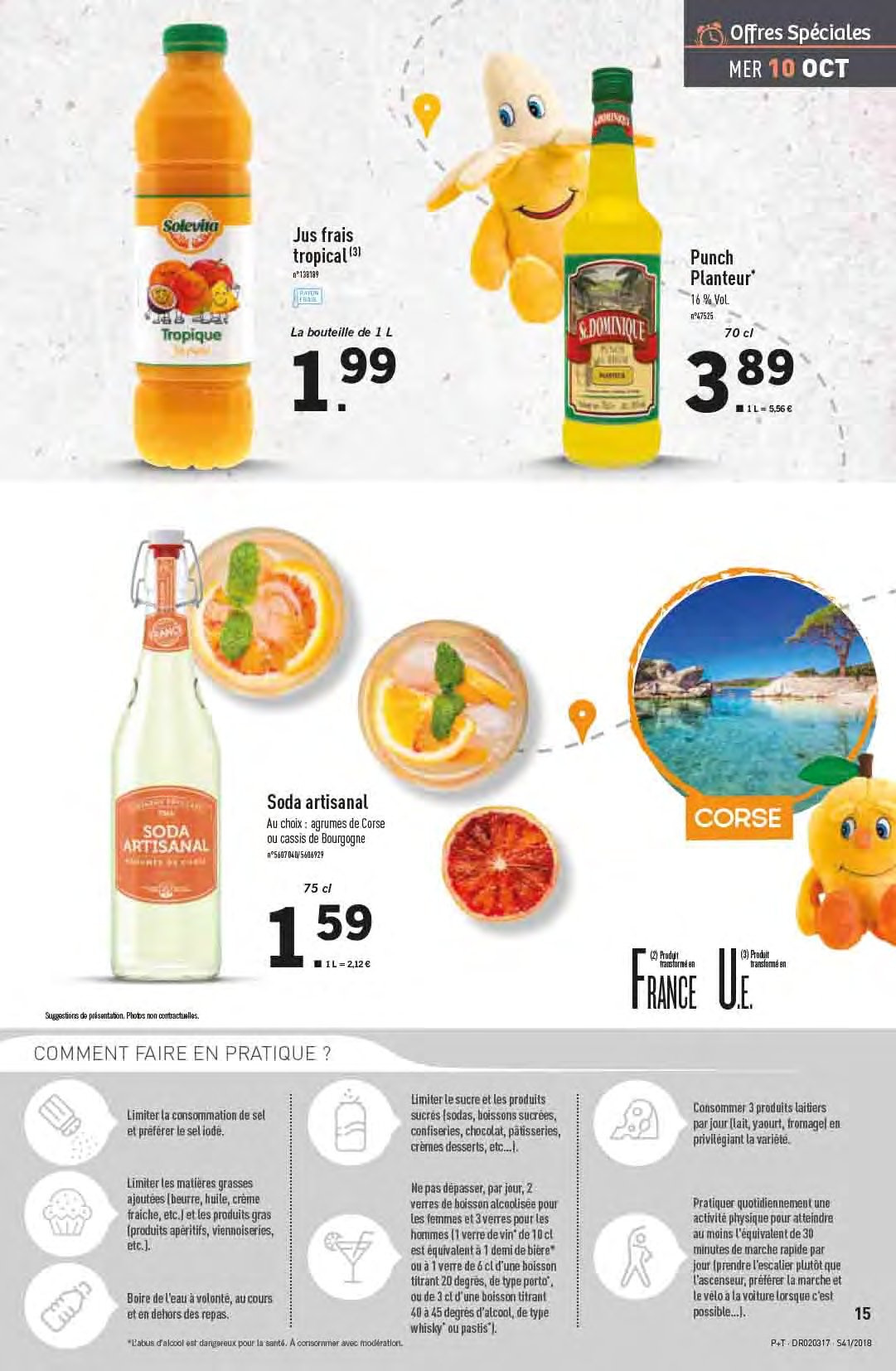 Catalogue Lidl - 10.10.2018 - 16.10.2018. Page 15.