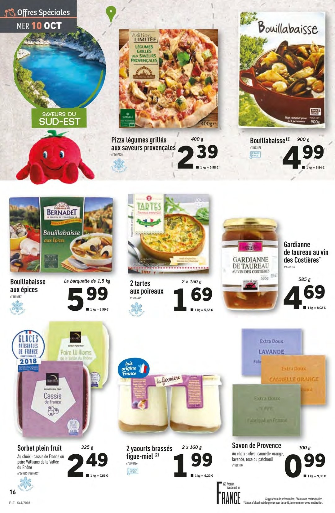 Catalogue Lidl - 10.10.2018 - 16.10.2018. Page 16.