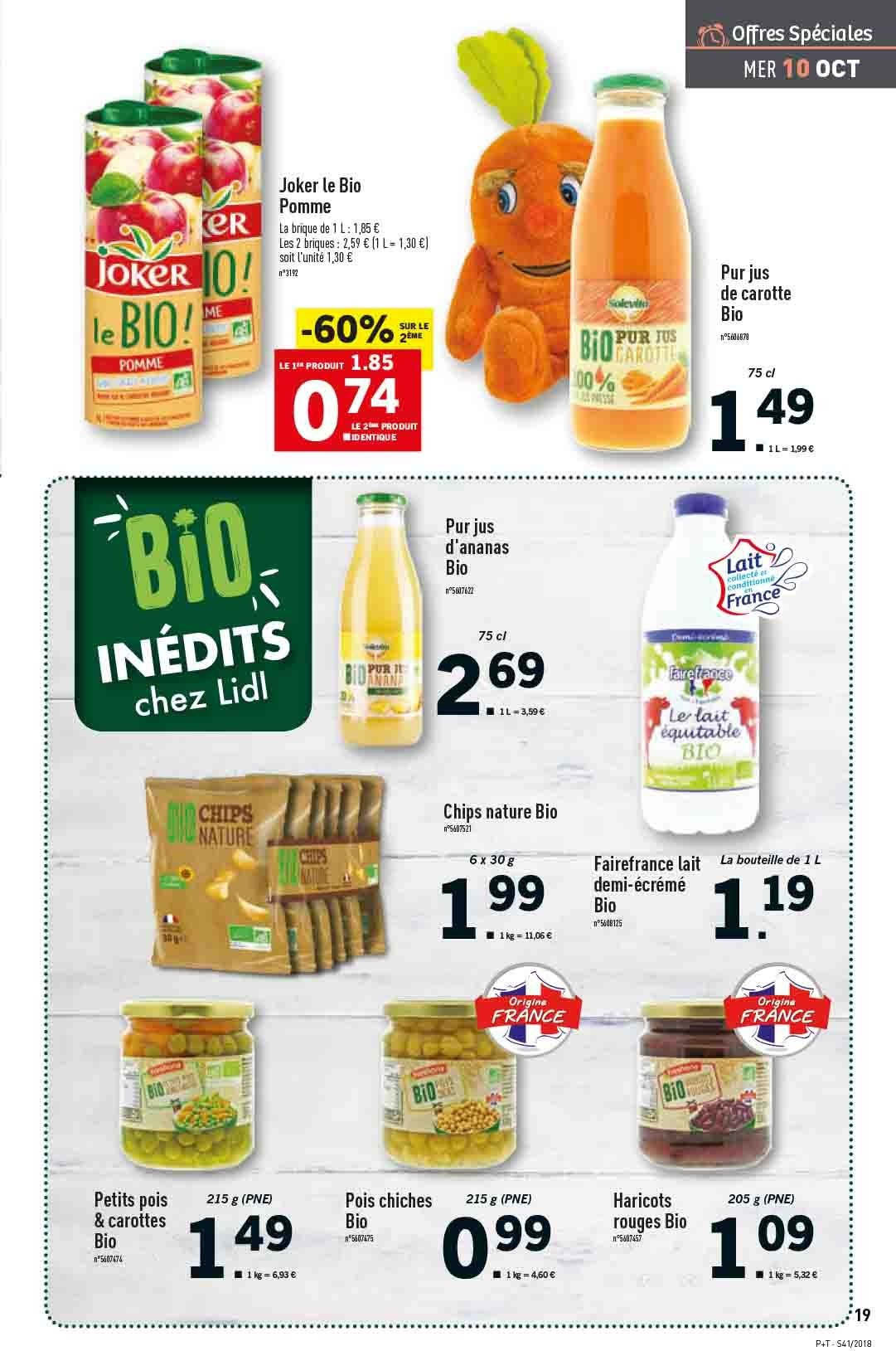 Catalogue Lidl - 10.10.2018 - 16.10.2018. Page 19.